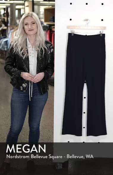 High Waist Crop Flare Pants, sales video thumbnail