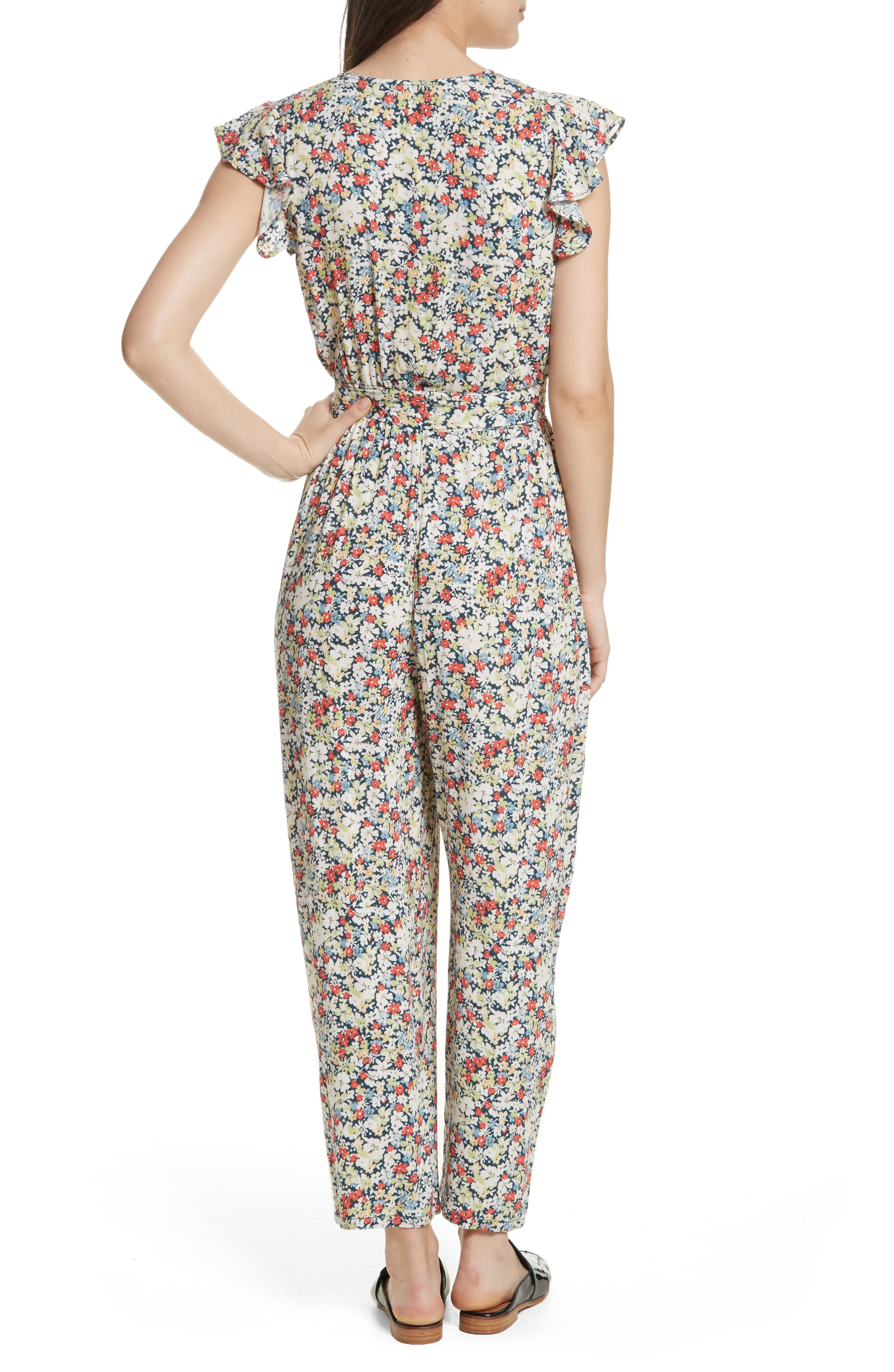 Ruffle Your Feathers Jumpsuit,                             Alternate thumbnail 2, color,                             410