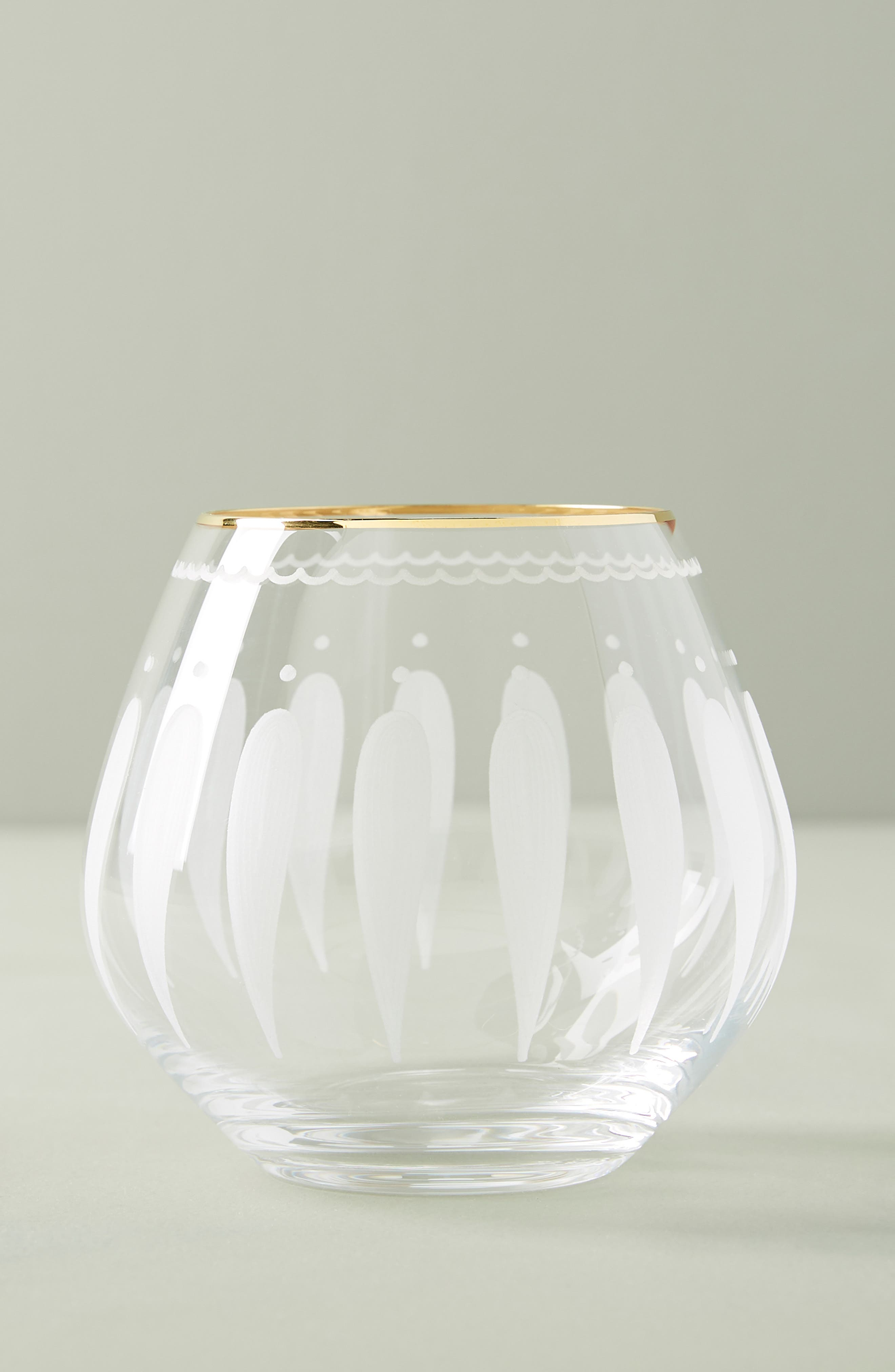 Odele Set of 4 Stemless Wine Glasses,                             Main thumbnail 1, color,                             CLEAR