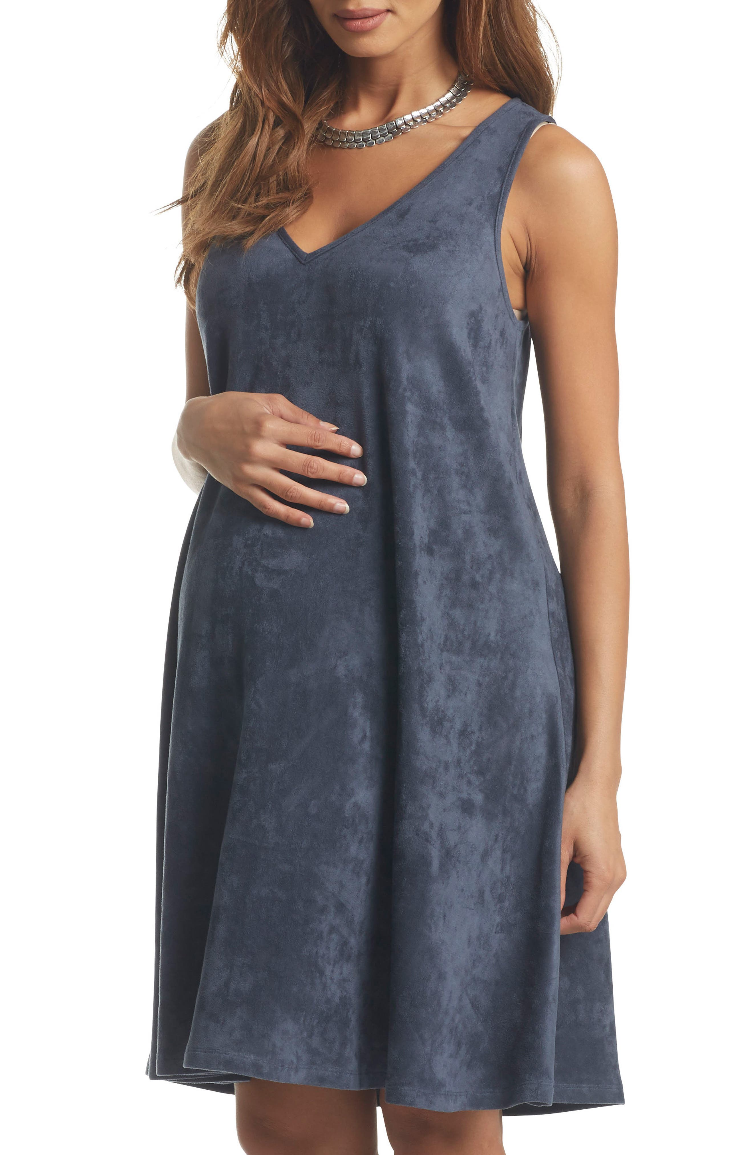 Tart Maternity Zandra Sueded Maternity Dress