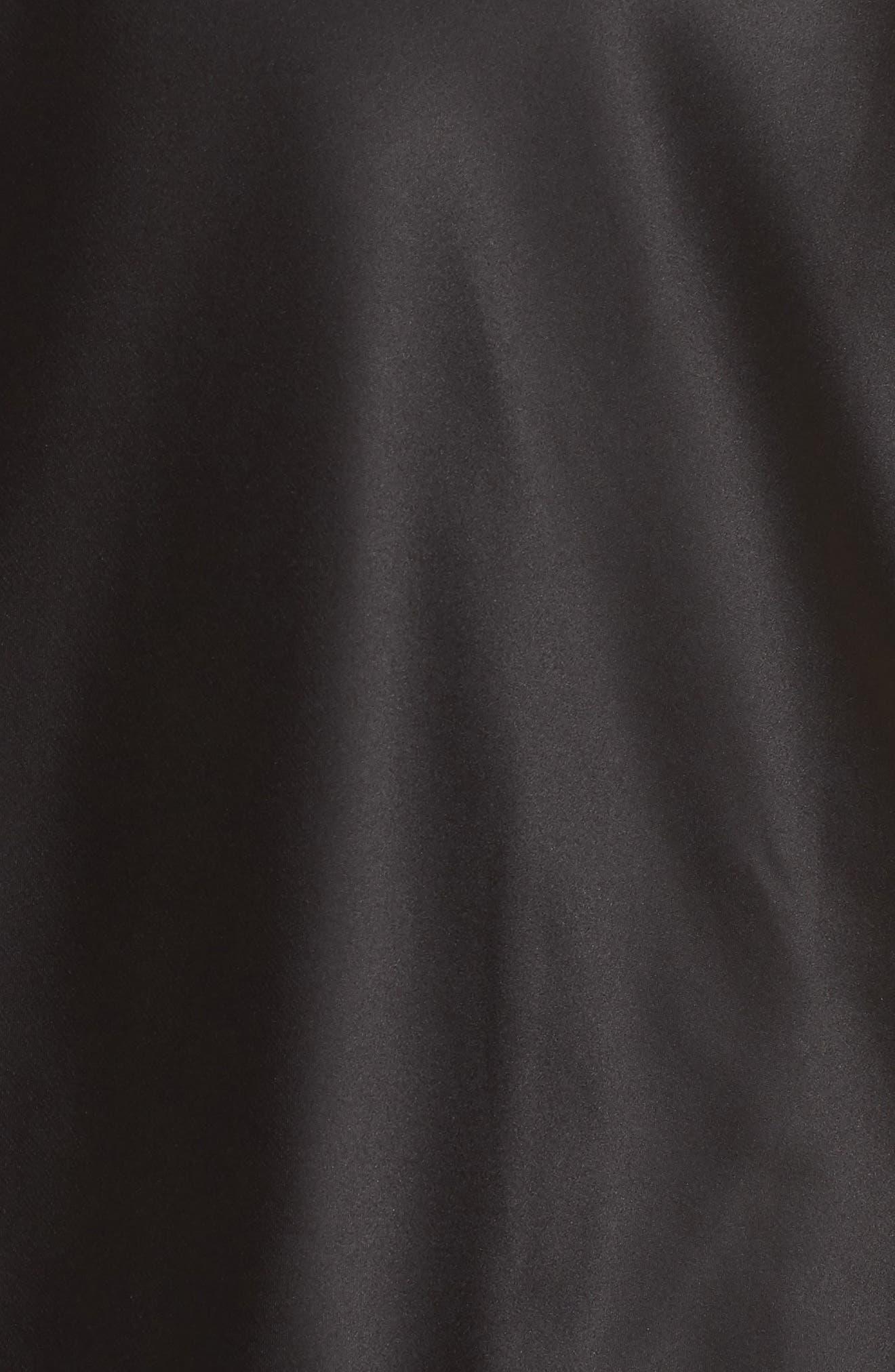 Robyn Satin Short Pajamas,                             Alternate thumbnail 5, color,                             002