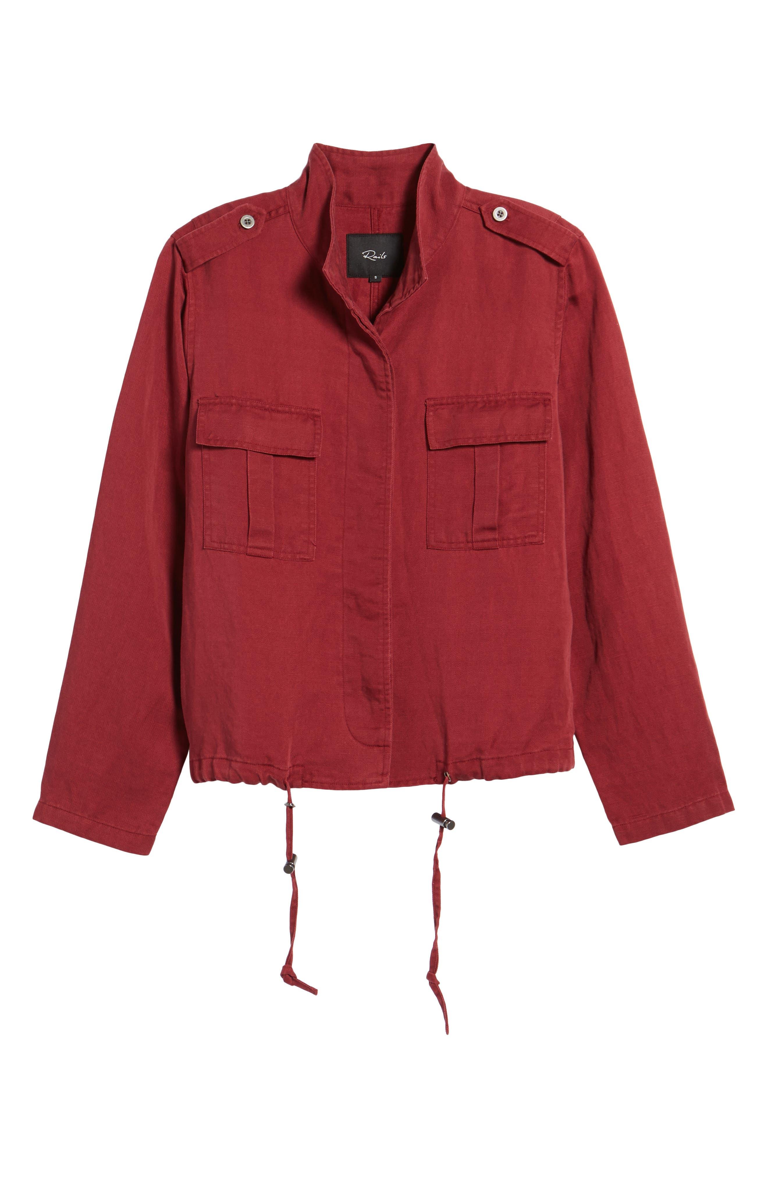 Maverick Military Jacket,                             Alternate thumbnail 5, color,                             933
