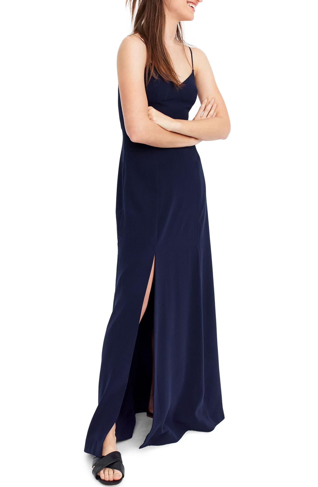 Side Slit Sleeveless Maxi Dress,                         Main,                         color, 401