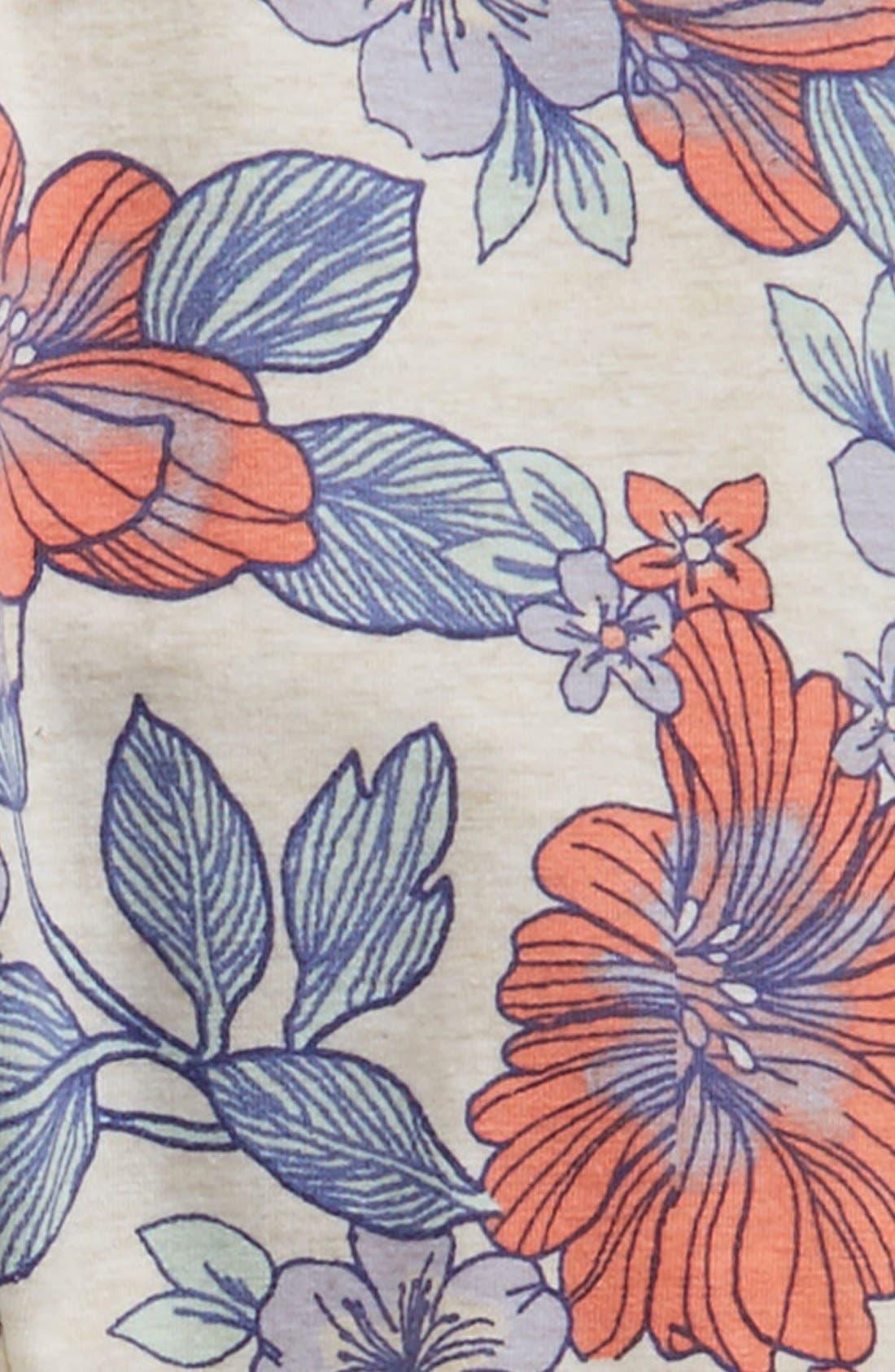 Floral Print Leggings,                             Alternate thumbnail 11, color,
