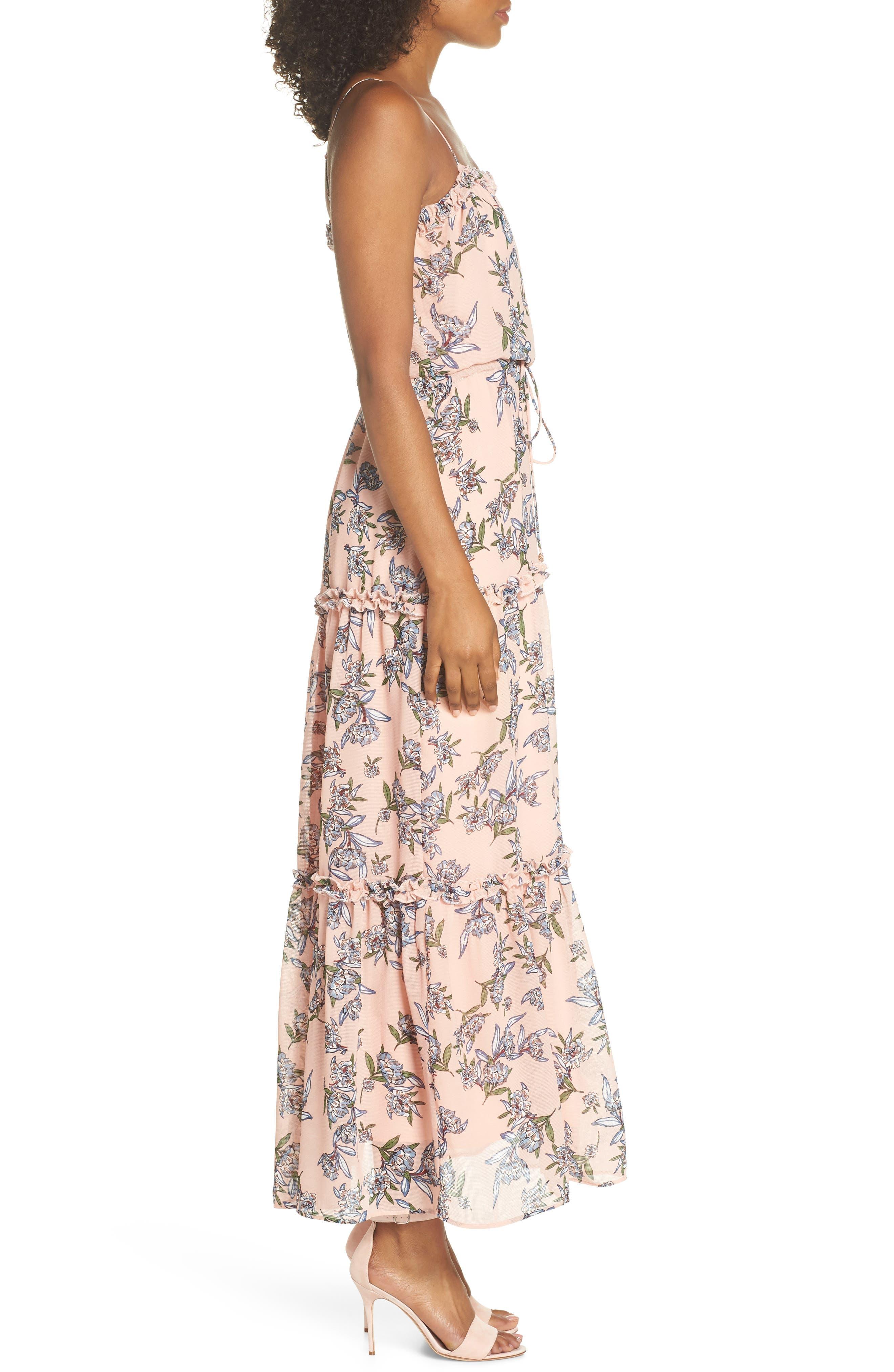 Sofi Maxi Dress,                             Alternate thumbnail 3, color,