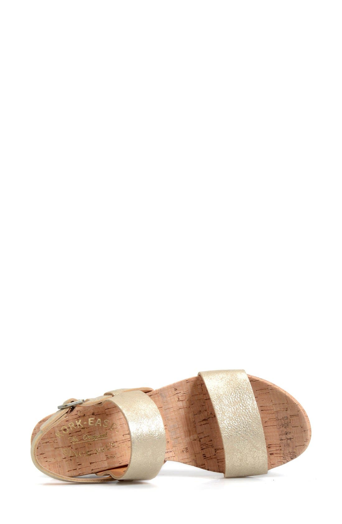 'Austin' Slingback Wedge Sandal,                             Alternate thumbnail 33, color,