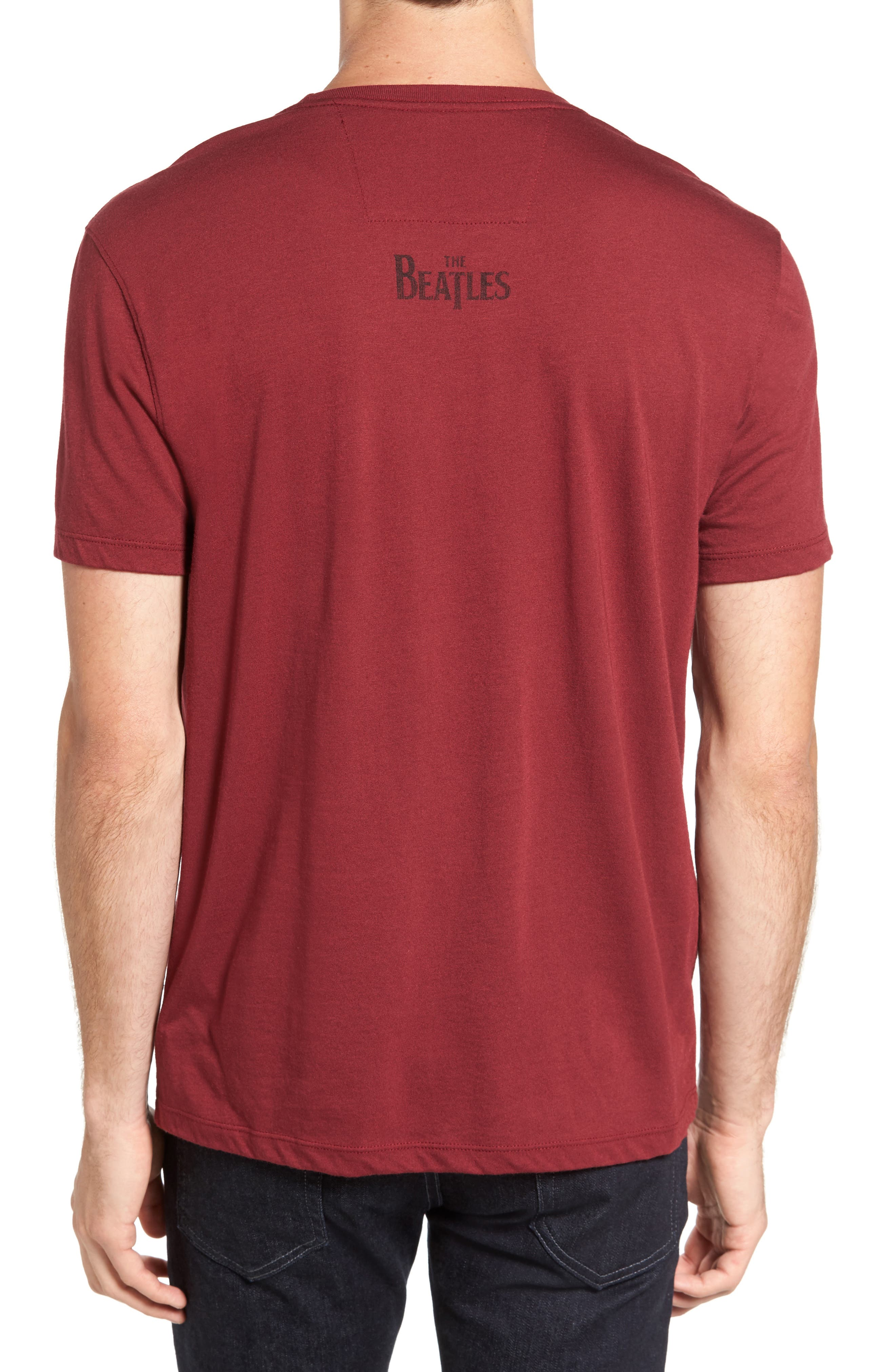 Beatles Help Graphic T-Shirt,                             Alternate thumbnail 2, color,                             609