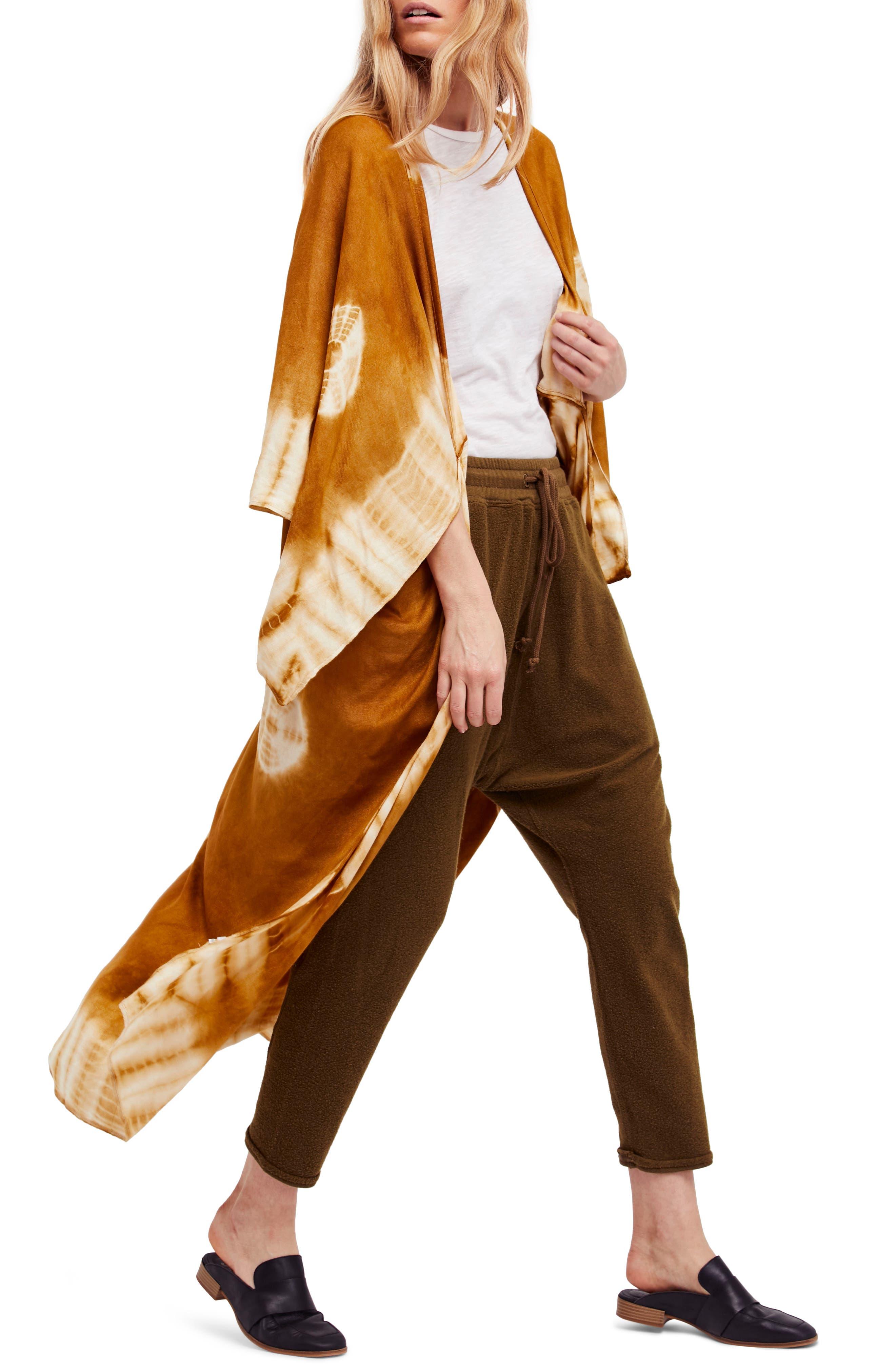 Spellbound Tie Dye Kimono Duster,                             Alternate thumbnail 19, color,