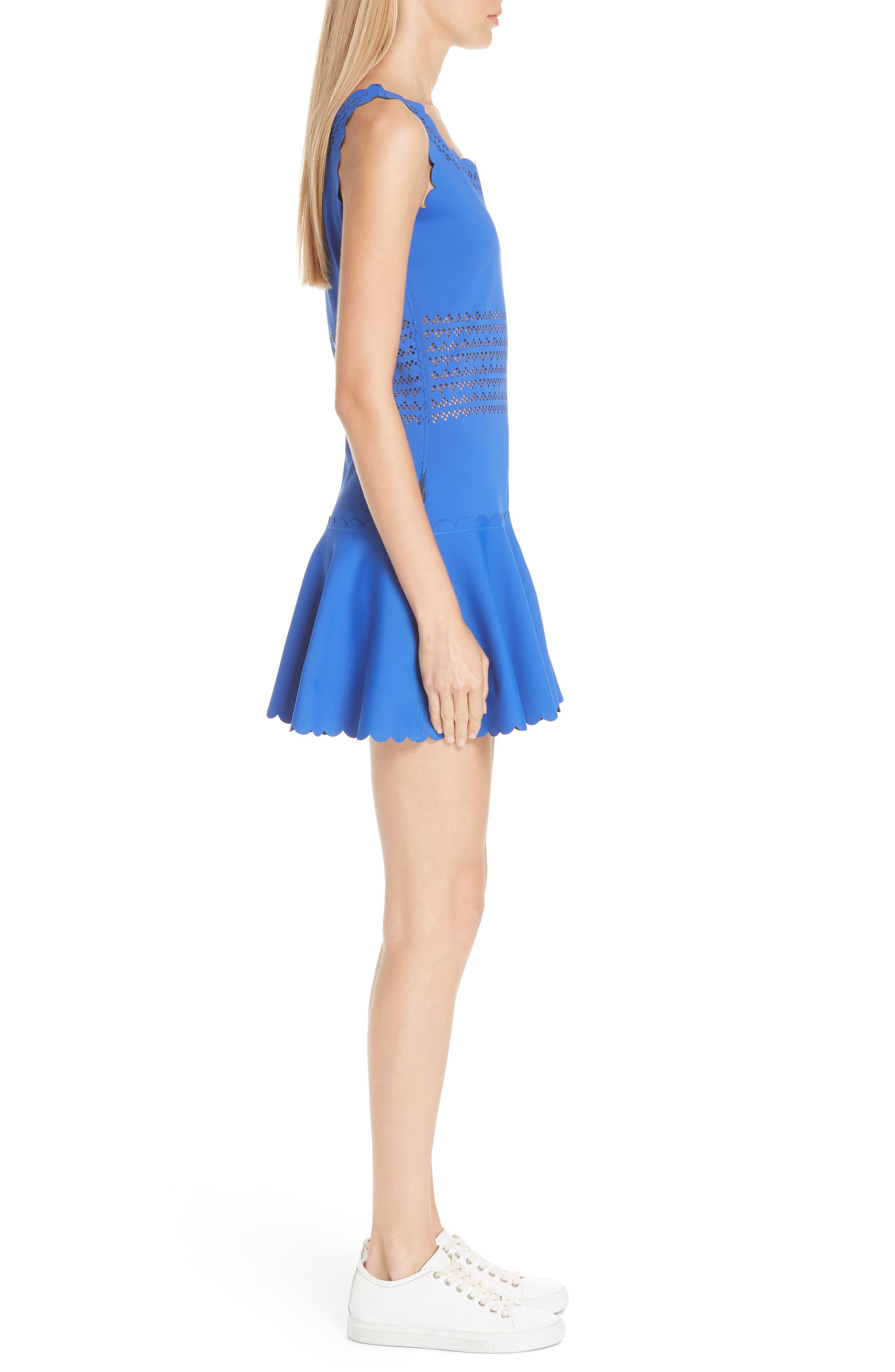 Center Court Tennis Dress,                             Alternate thumbnail 4, color,                             BLUE