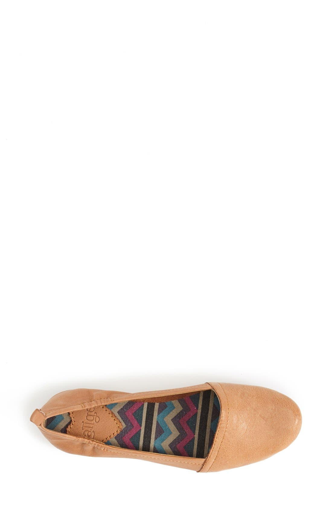 'Bettie' Leather Flat,                             Alternate thumbnail 12, color,