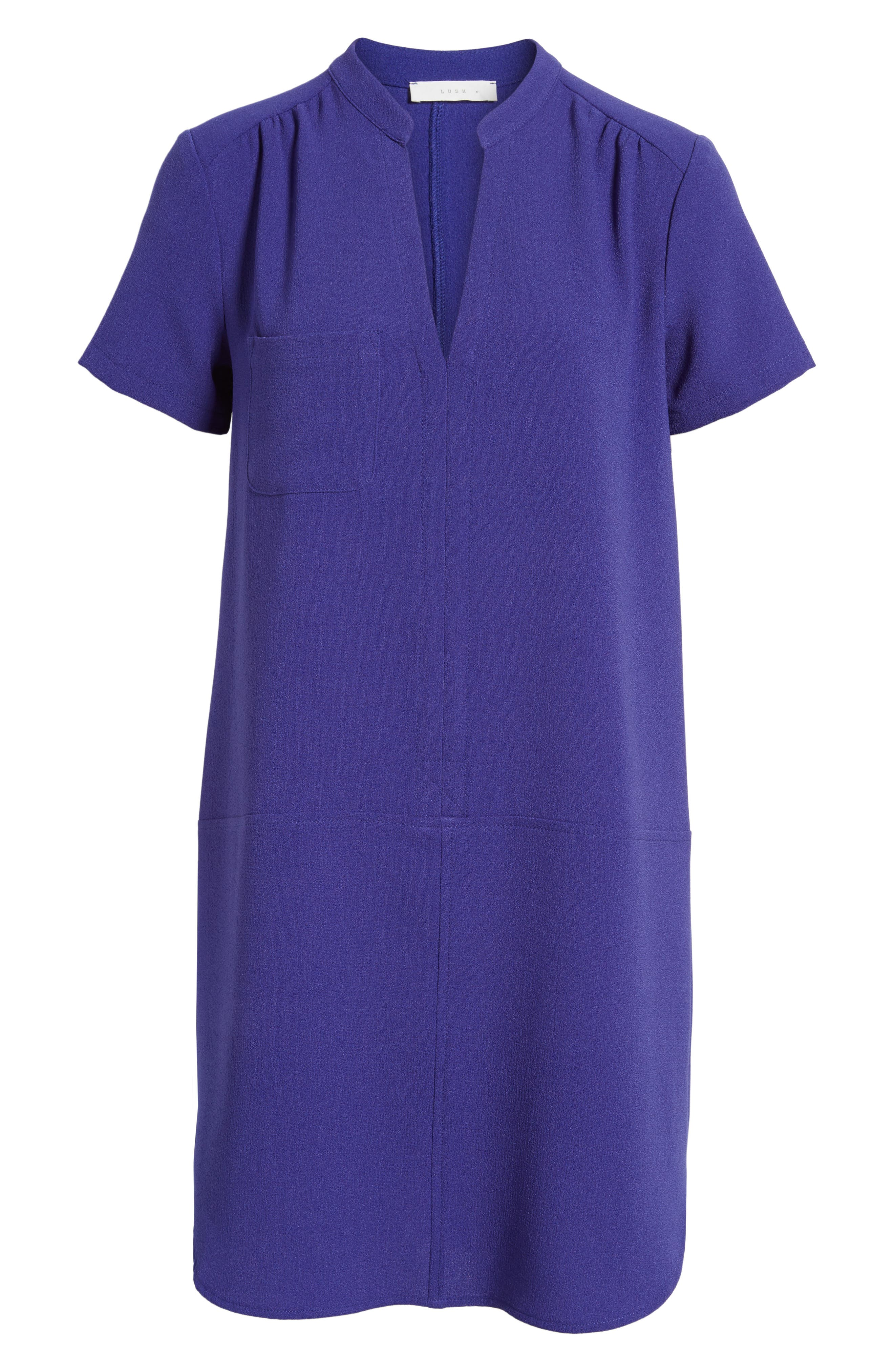Hailey Crepe Dress,                             Alternate thumbnail 153, color,