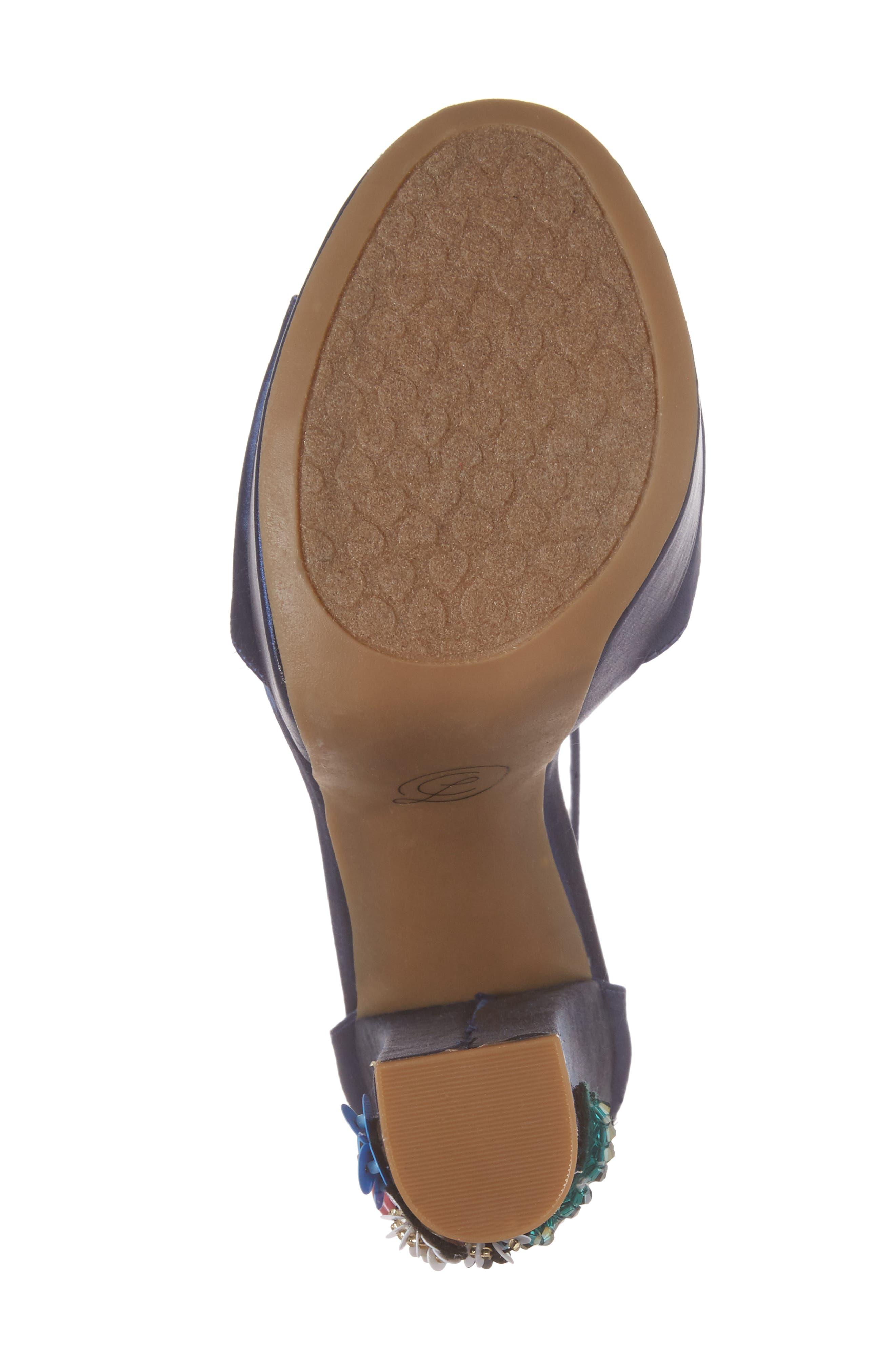 Aloha Embellished Platform Sandal,                             Alternate thumbnail 6, color,                             400