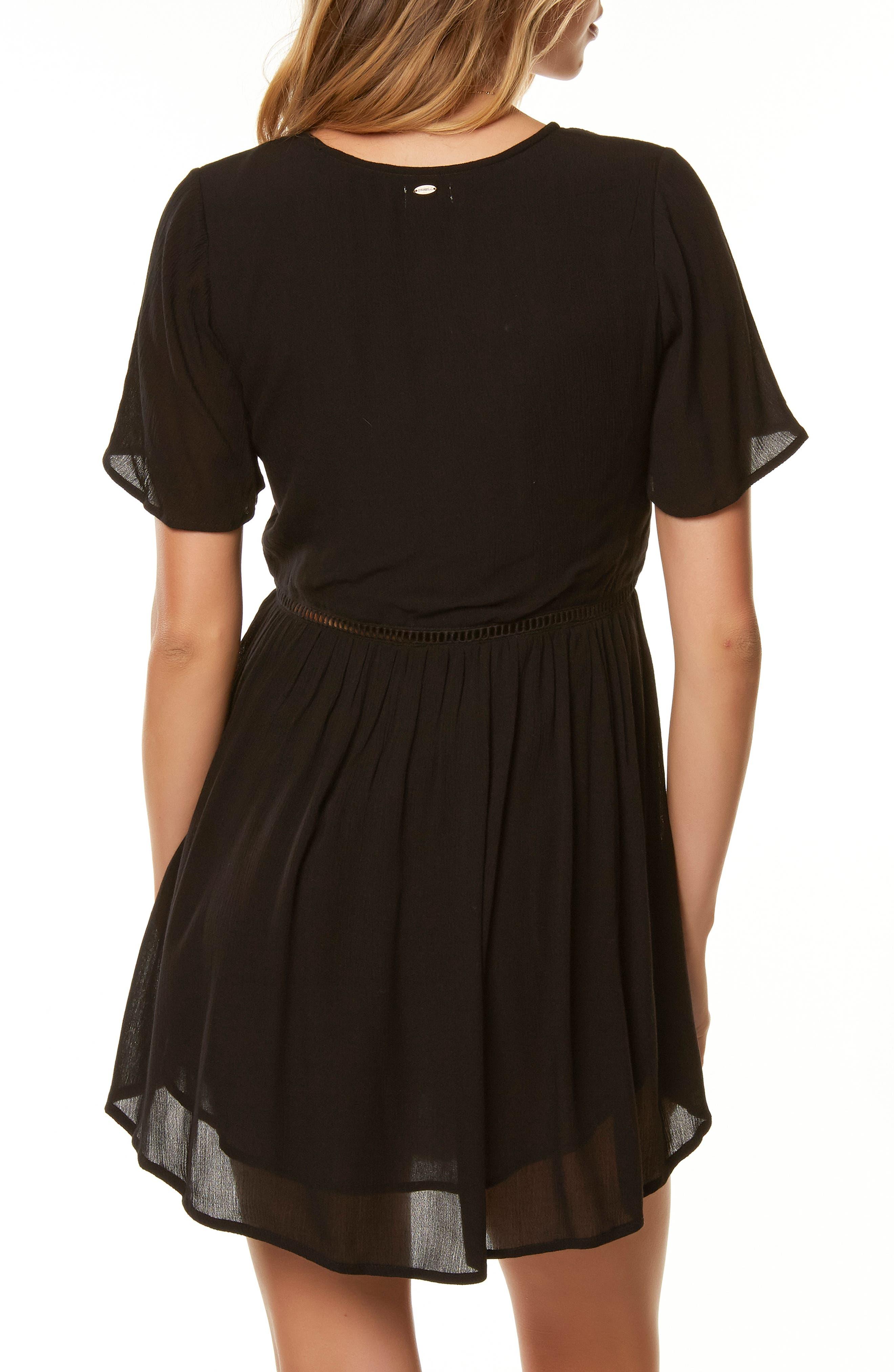 O'NEILL,                             Naples Ladder Stitch Dress,                             Alternate thumbnail 2, color,                             001