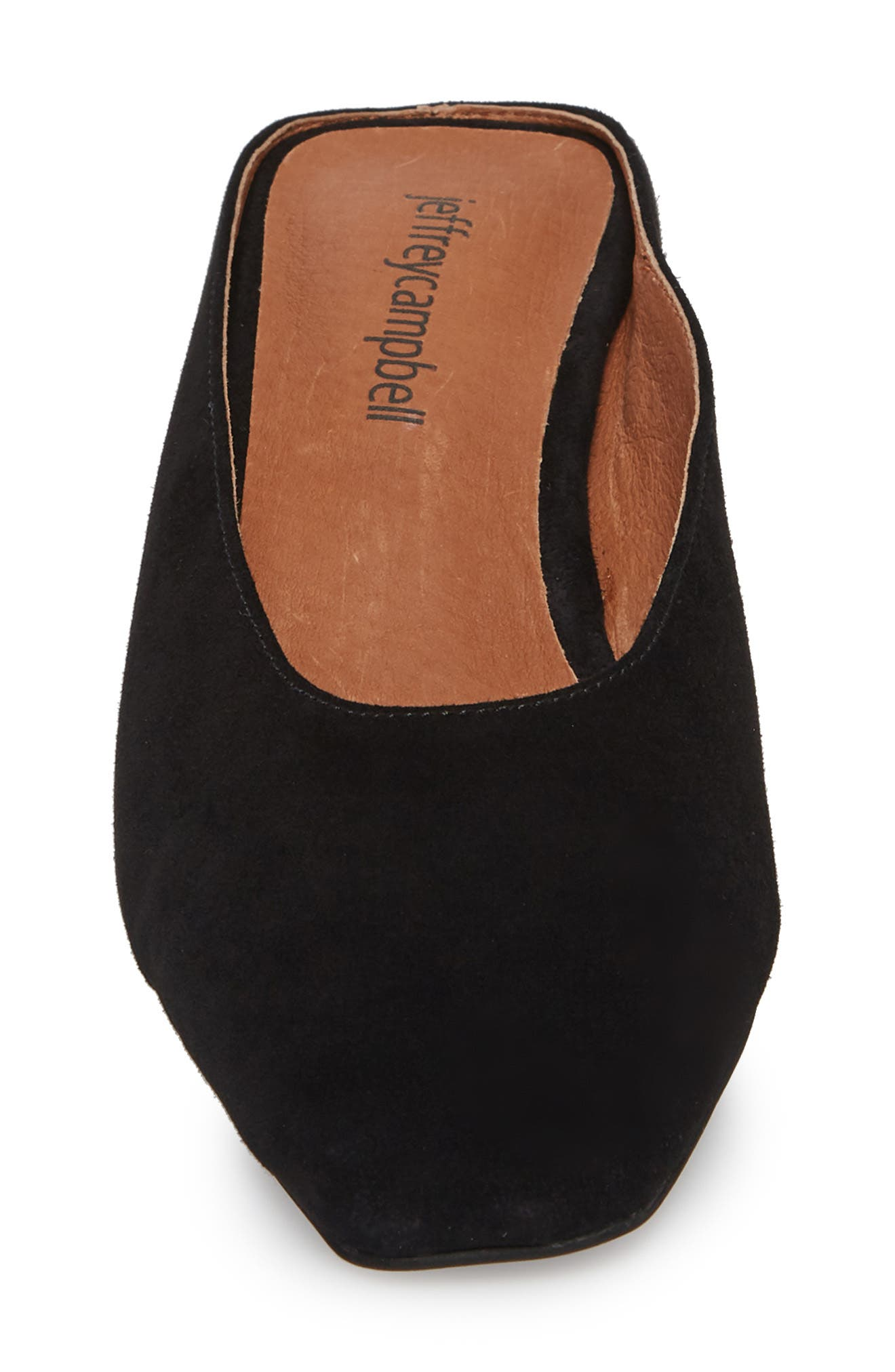 JEFFREY CAMPBELL,                             Cryptic Statement Heel Mule,                             Alternate thumbnail 4, color,                             005