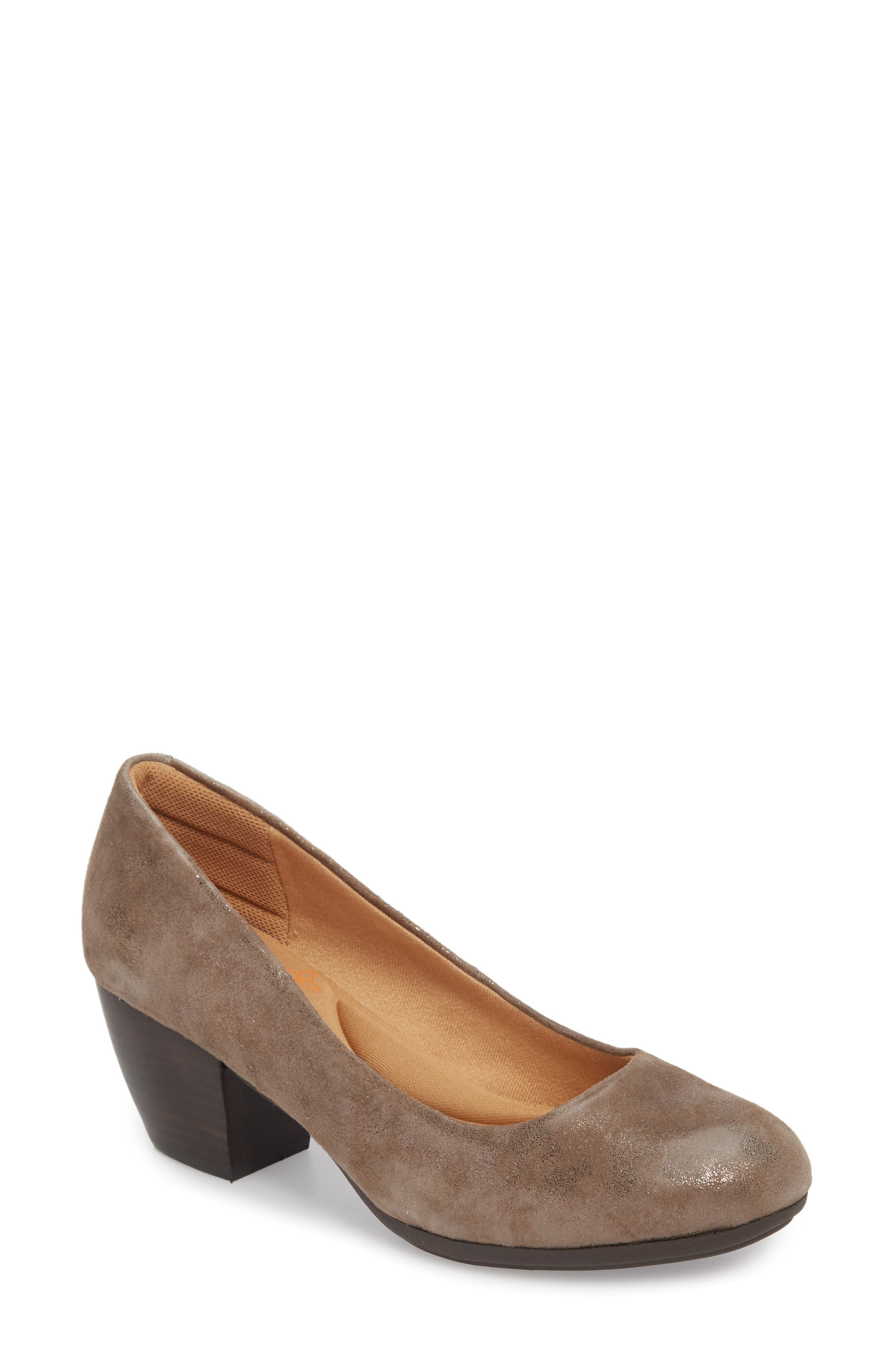 Amora Pump, Main, color, SMOKE