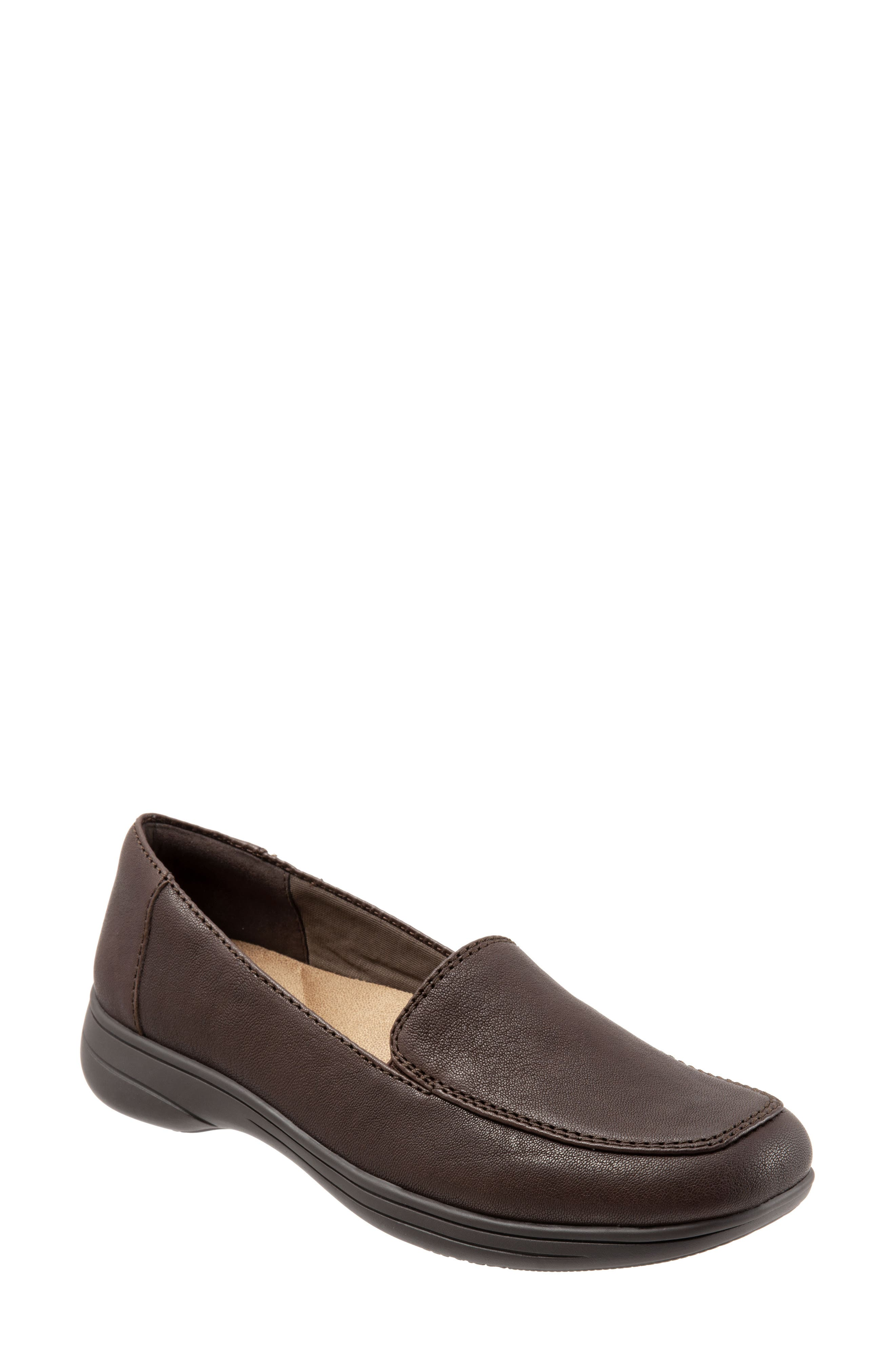 Jacob Loafer,                         Main,                         color, DARK BROWN LEATHER