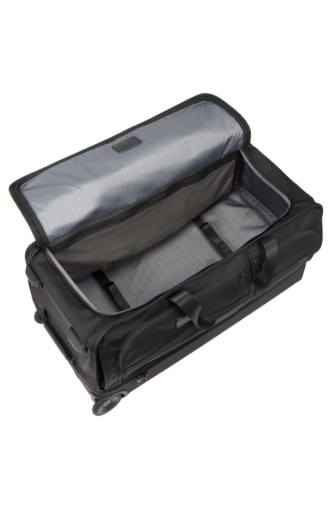Alpha 2 31-Inch Rolling Two-Wheel Duffel Bag,                             Alternate thumbnail 2, color,                             007