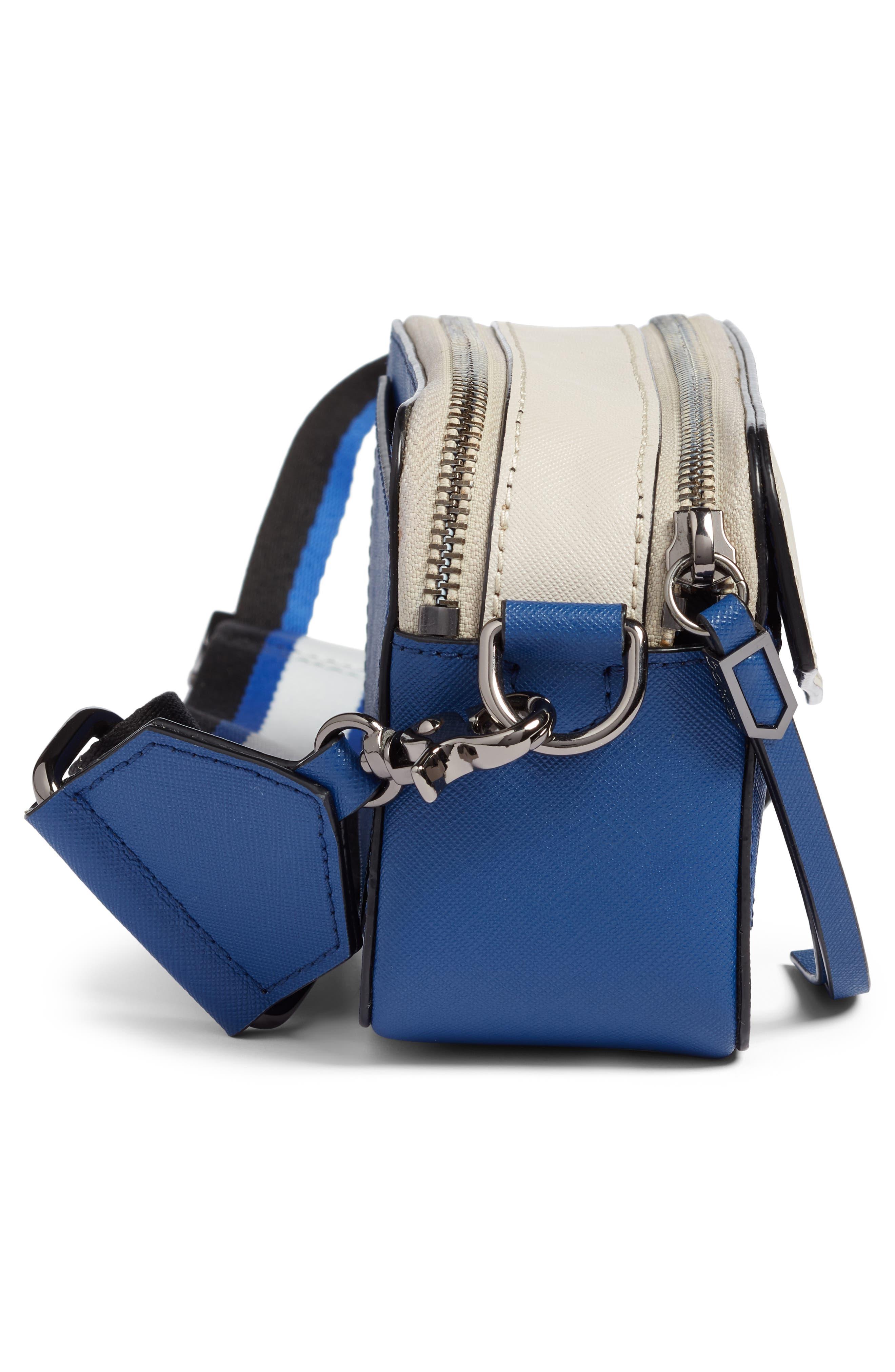 Cobble Hill Mini Crossbody Camera Bag,                             Alternate thumbnail 5, color,                             WINTER BLUE COMBO
