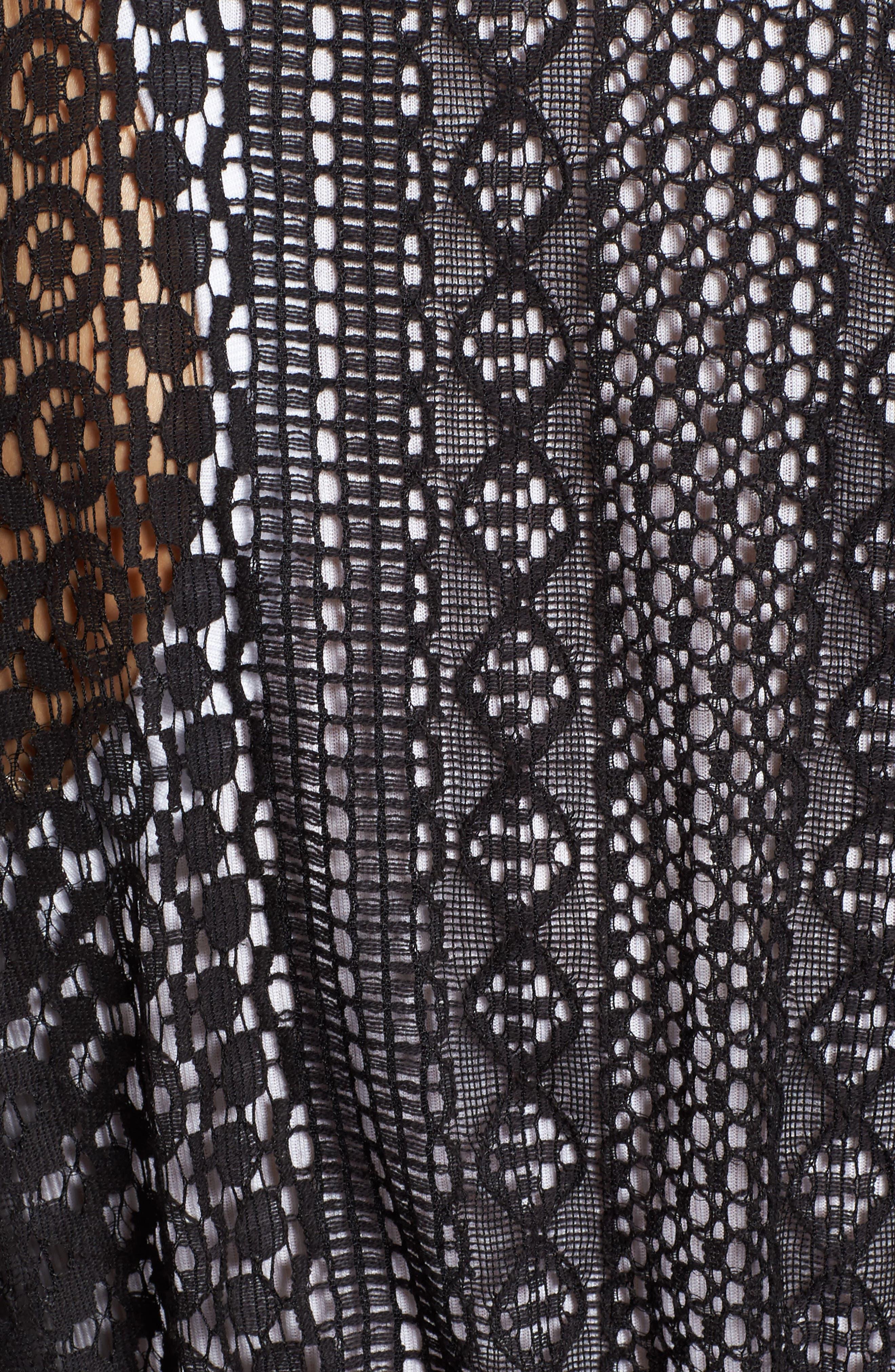 Lace Kimono Pullover,                             Alternate thumbnail 9, color,