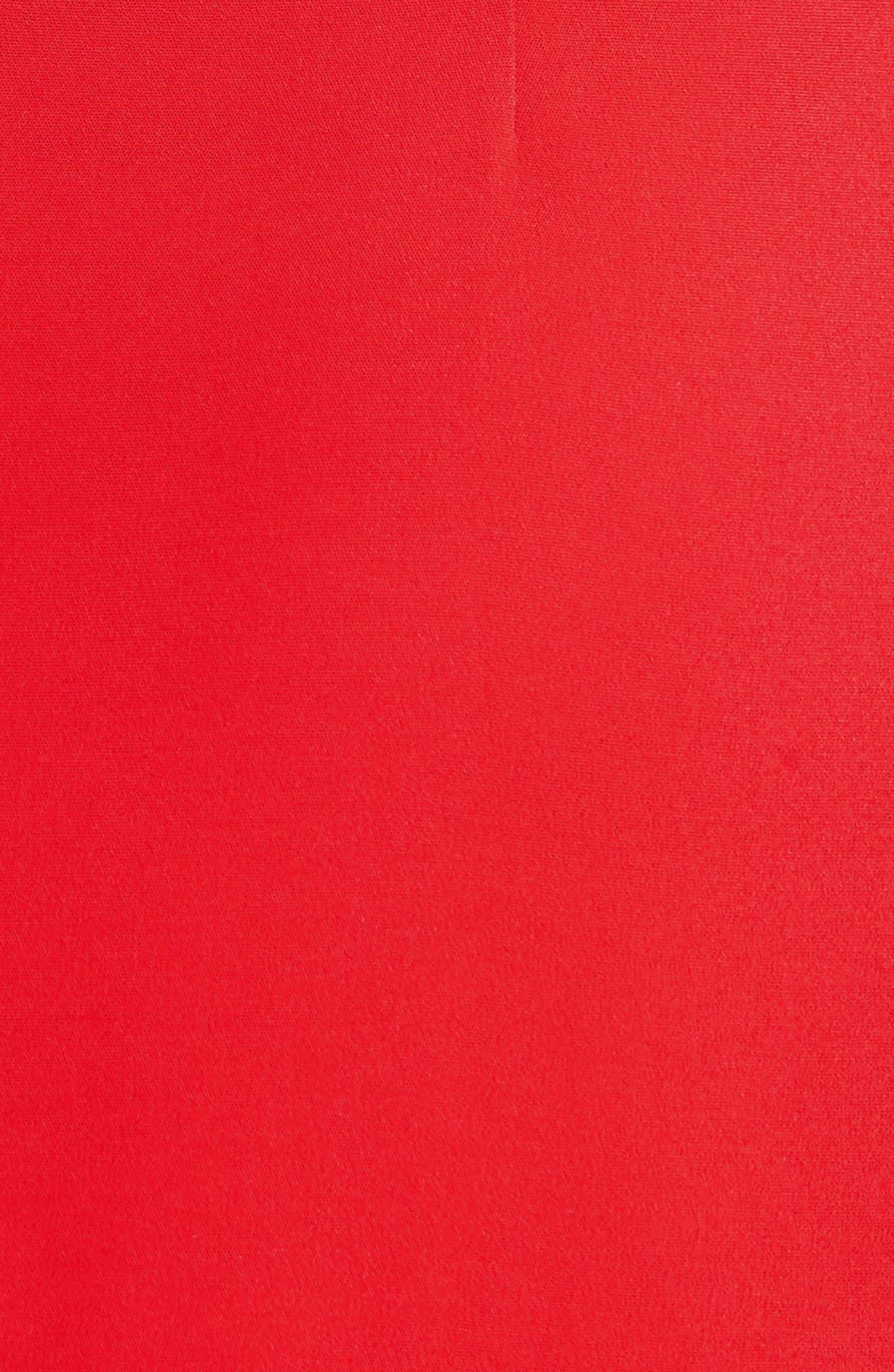 Cowl Neck Pencil Dress,                             Alternate thumbnail 6, color,                             622
