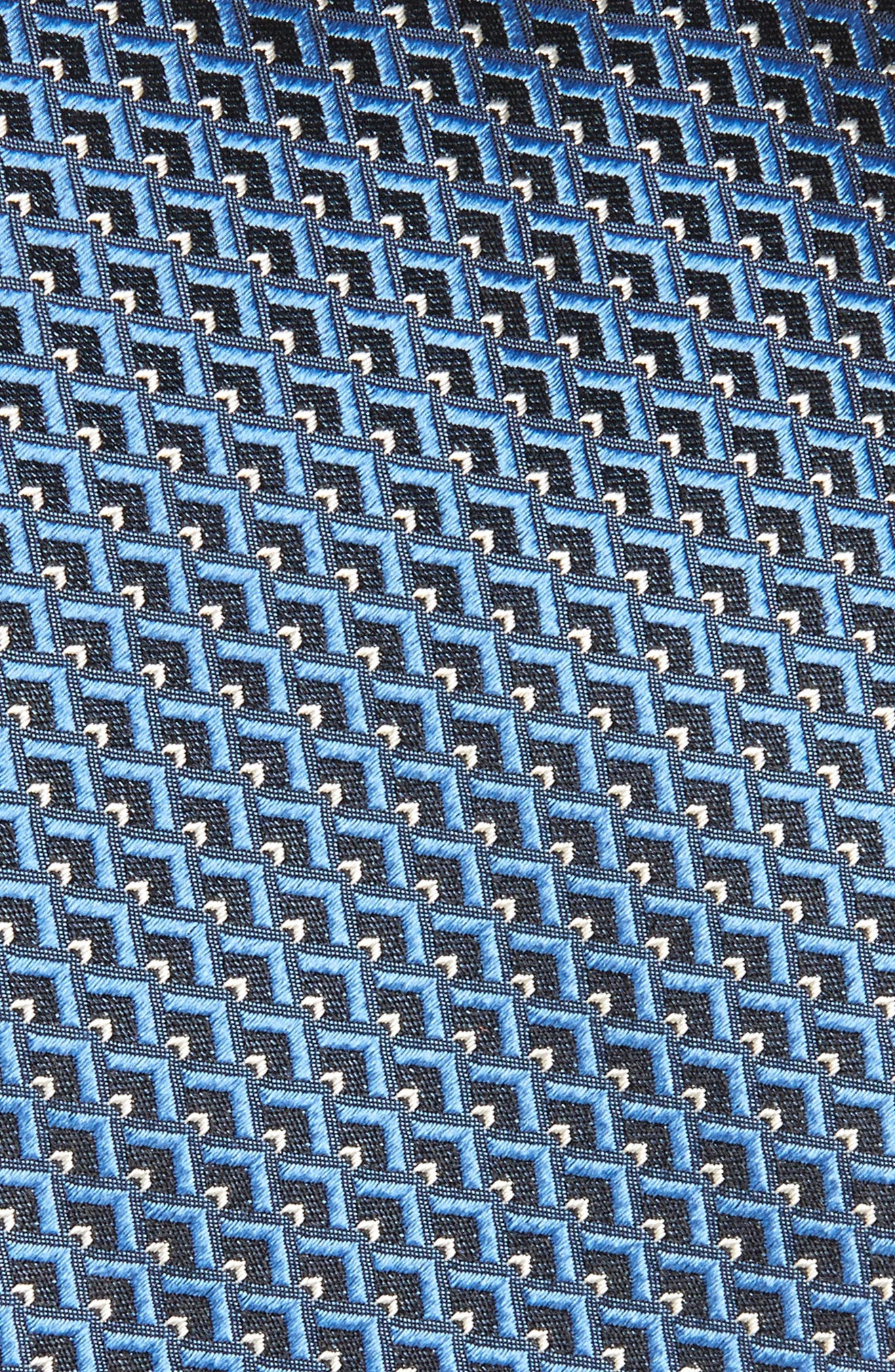 Geomeric Silk Tie,                             Alternate thumbnail 2, color,                             428