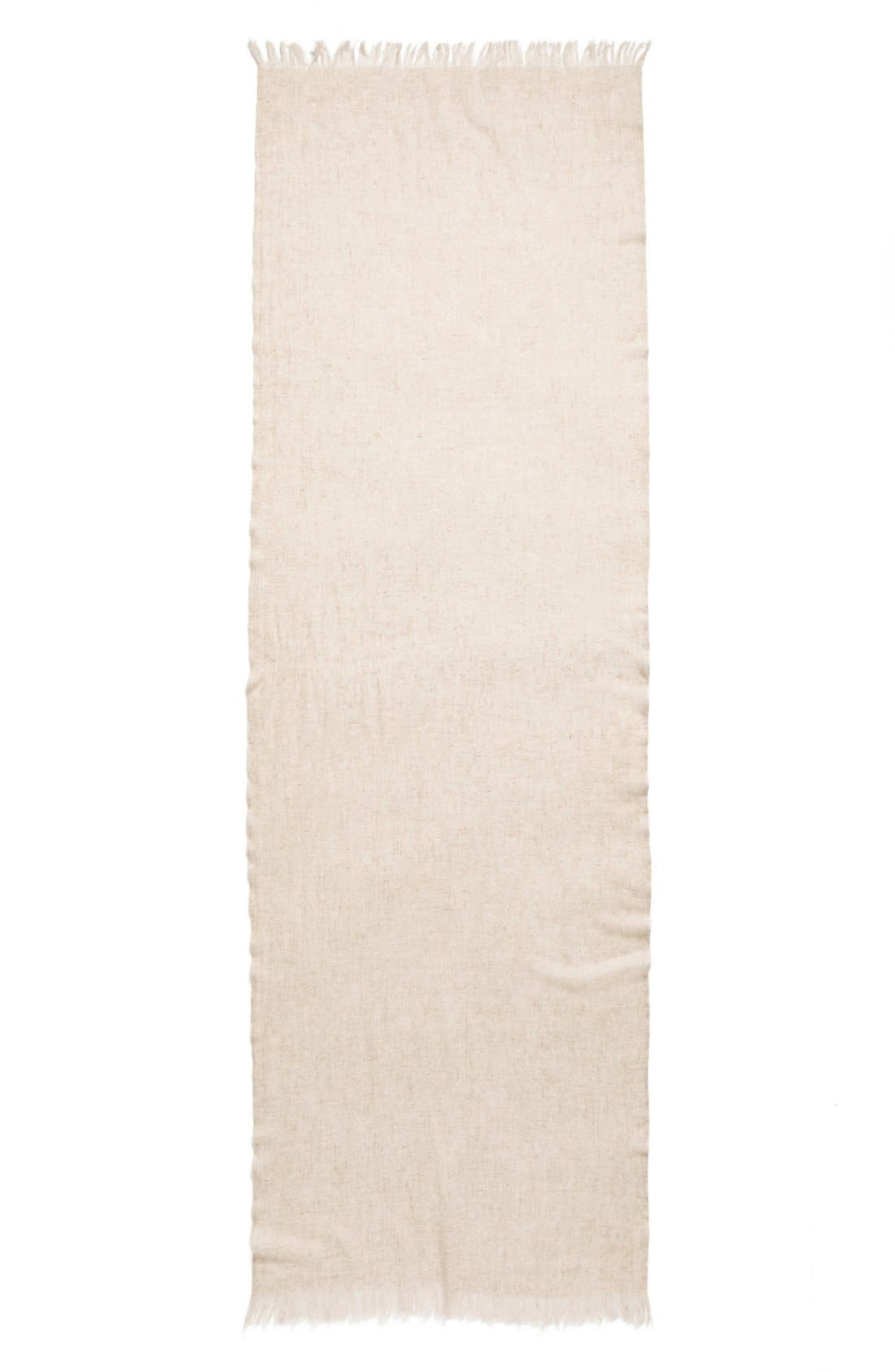 Caslon<sup>®</sup> Heathered Cashmere Gauze Scarf,                             Alternate thumbnail 16, color,