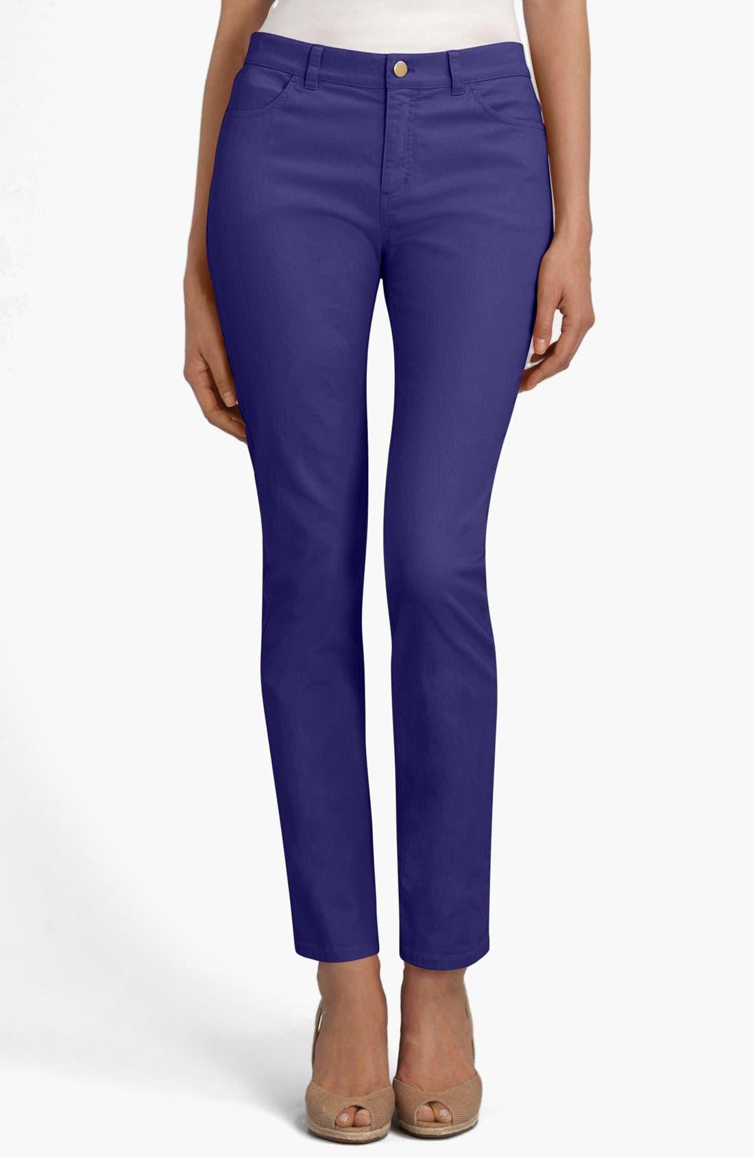 'Primo Denim' Curvy Fit Slim Leg Jeans,                             Main thumbnail 5, color,