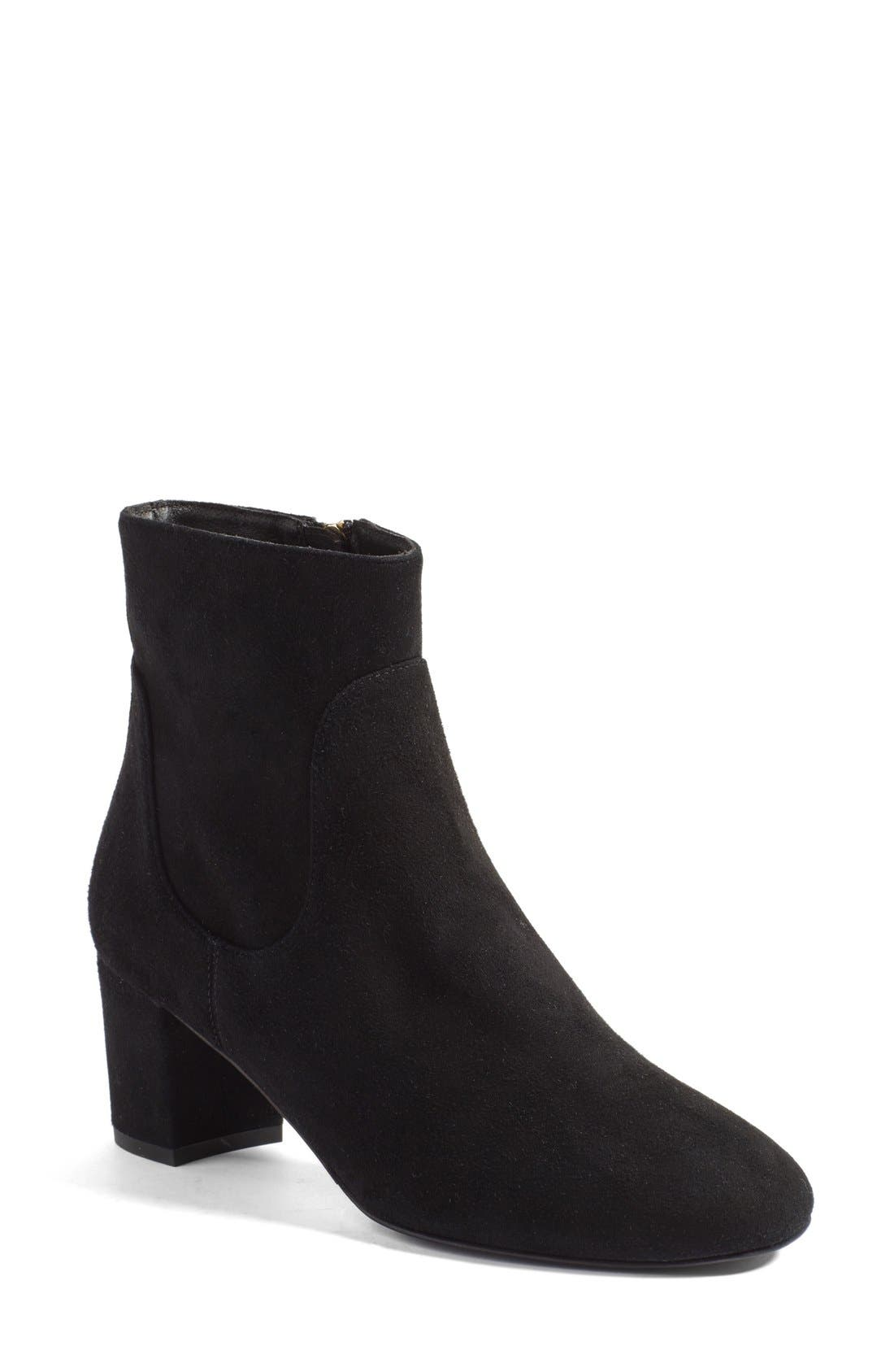 'Simi' Block Heel Bootie,                         Main,                         color, 002
