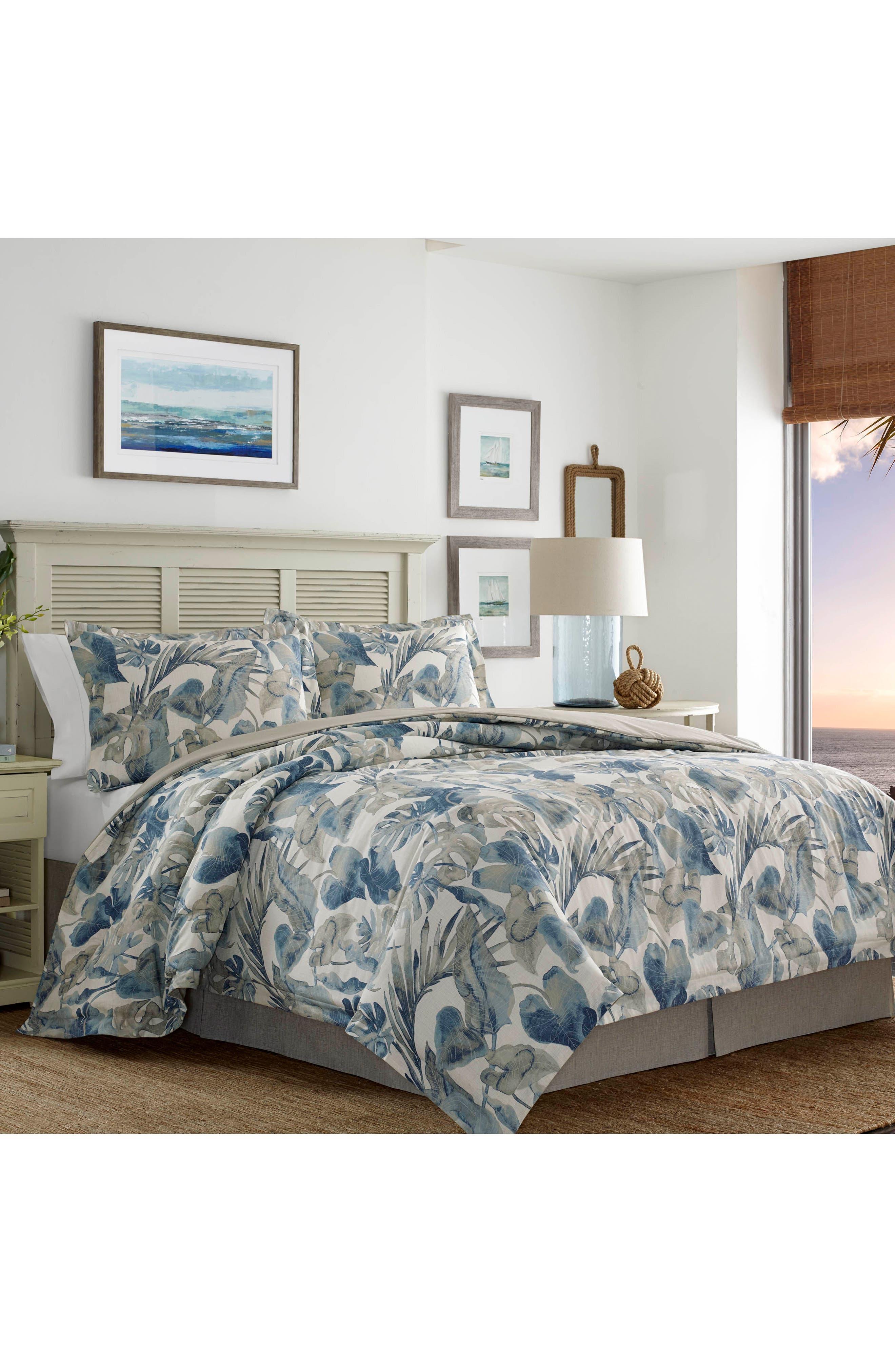 TOMMY BAHAMA,                             Raw Coast Comforter, Sham & Bed Skirt Set,                             Alternate thumbnail 3, color,                             400