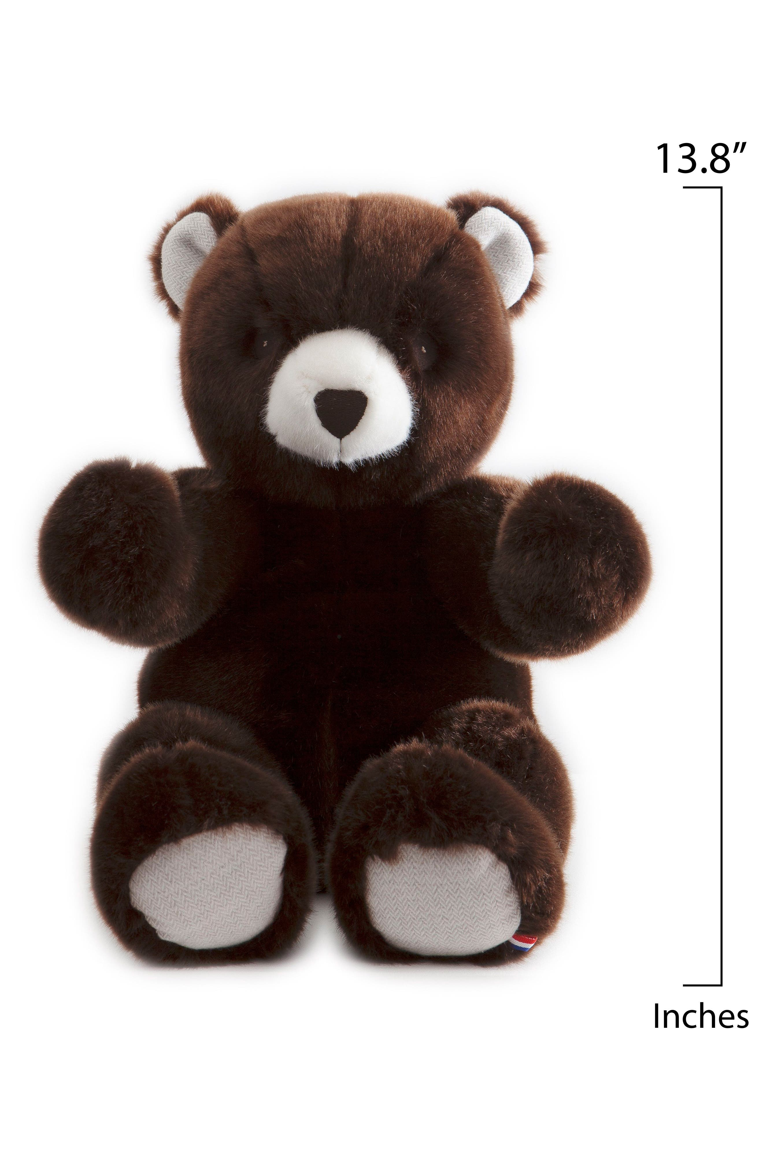 Robert the Bear Stuffed Animal,                             Alternate thumbnail 2, color,                             BROWN