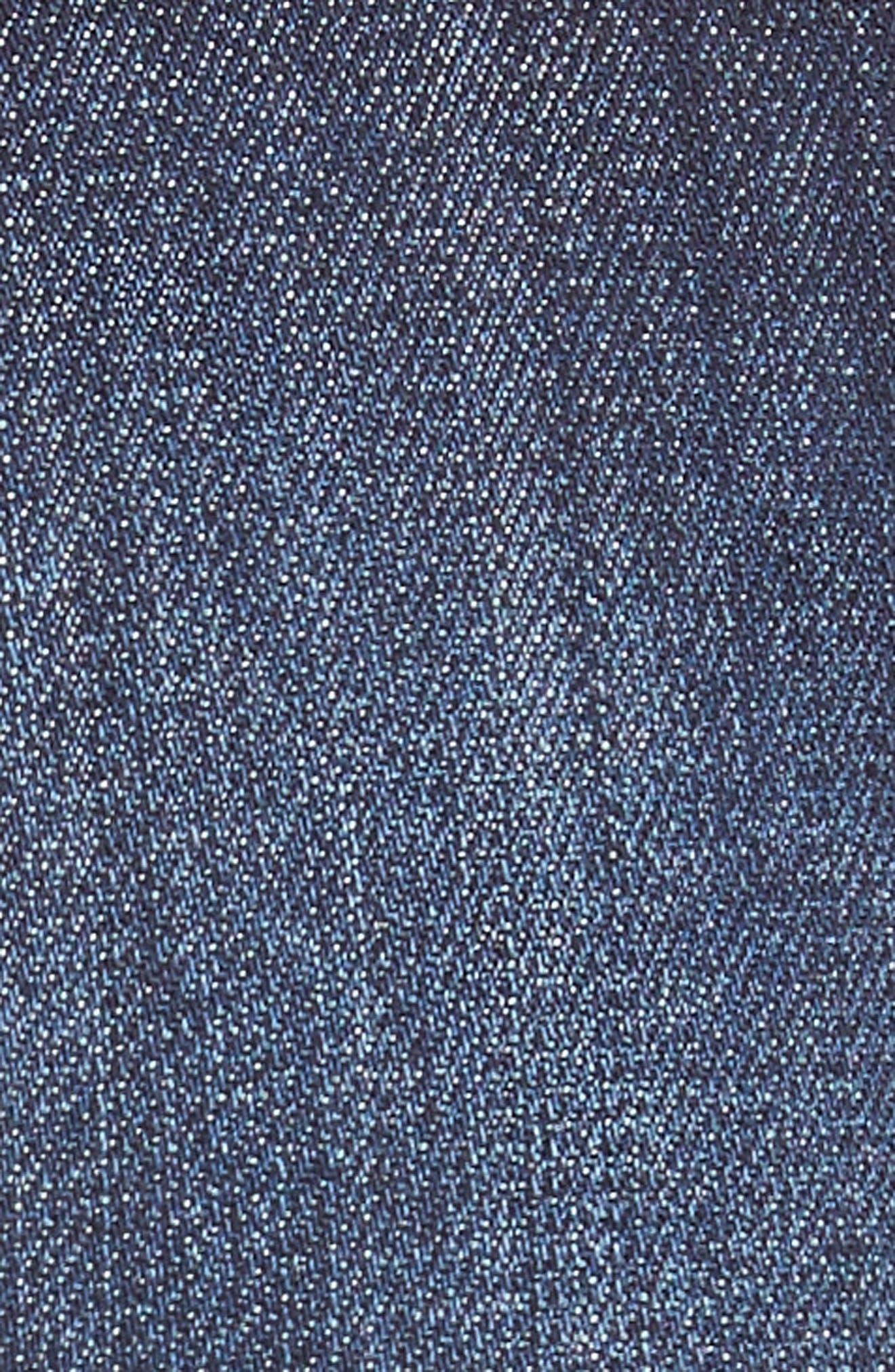 Gidget Denim Cutoff Shorts,                             Alternate thumbnail 5, color,                             STIMULATING