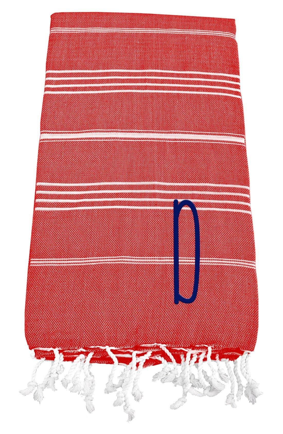Monogram Turkish Cotton Towel,                             Main thumbnail 113, color,