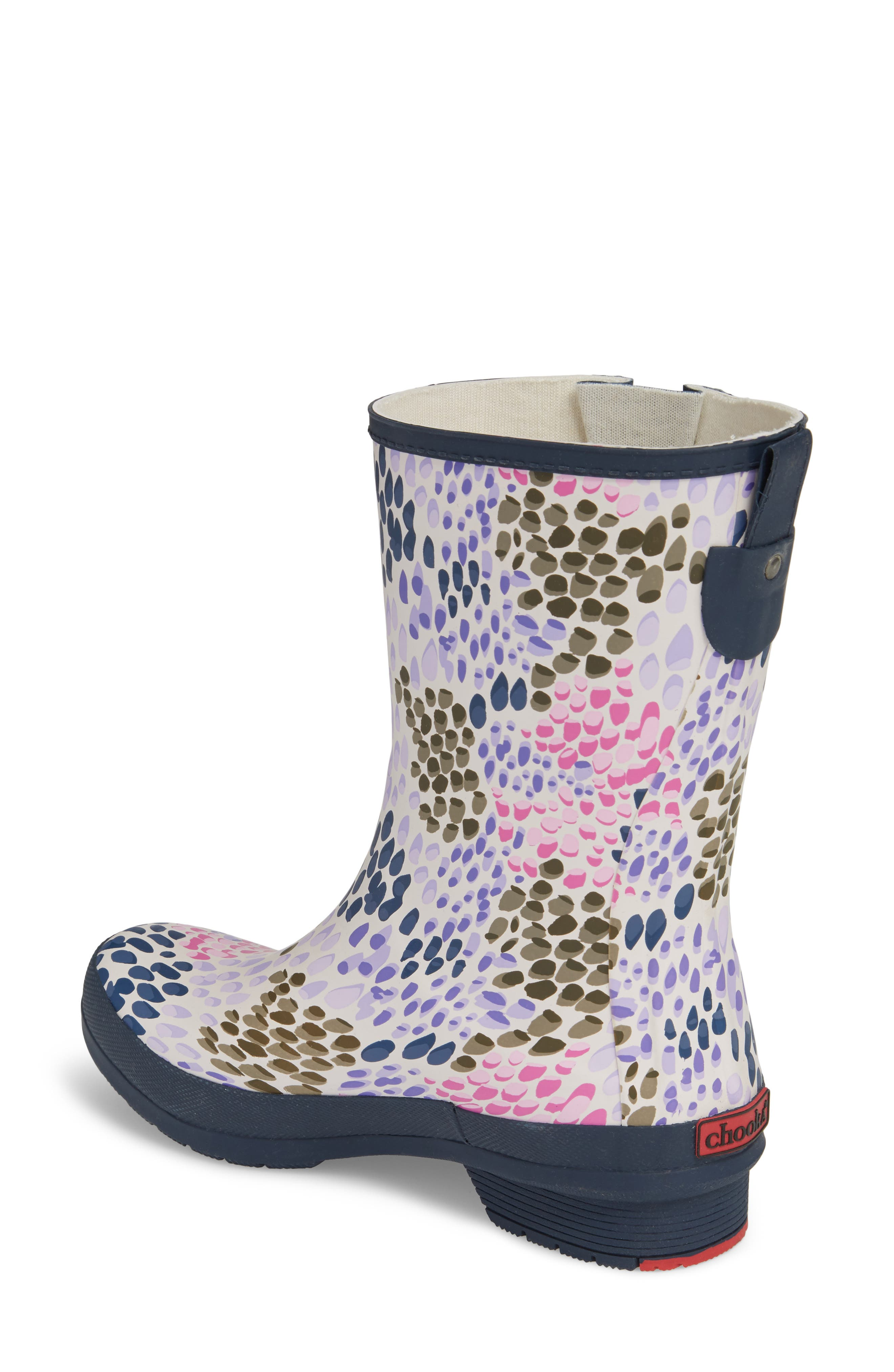 Tillie Mid Rain Boot,                             Alternate thumbnail 2, color,                             NAVY