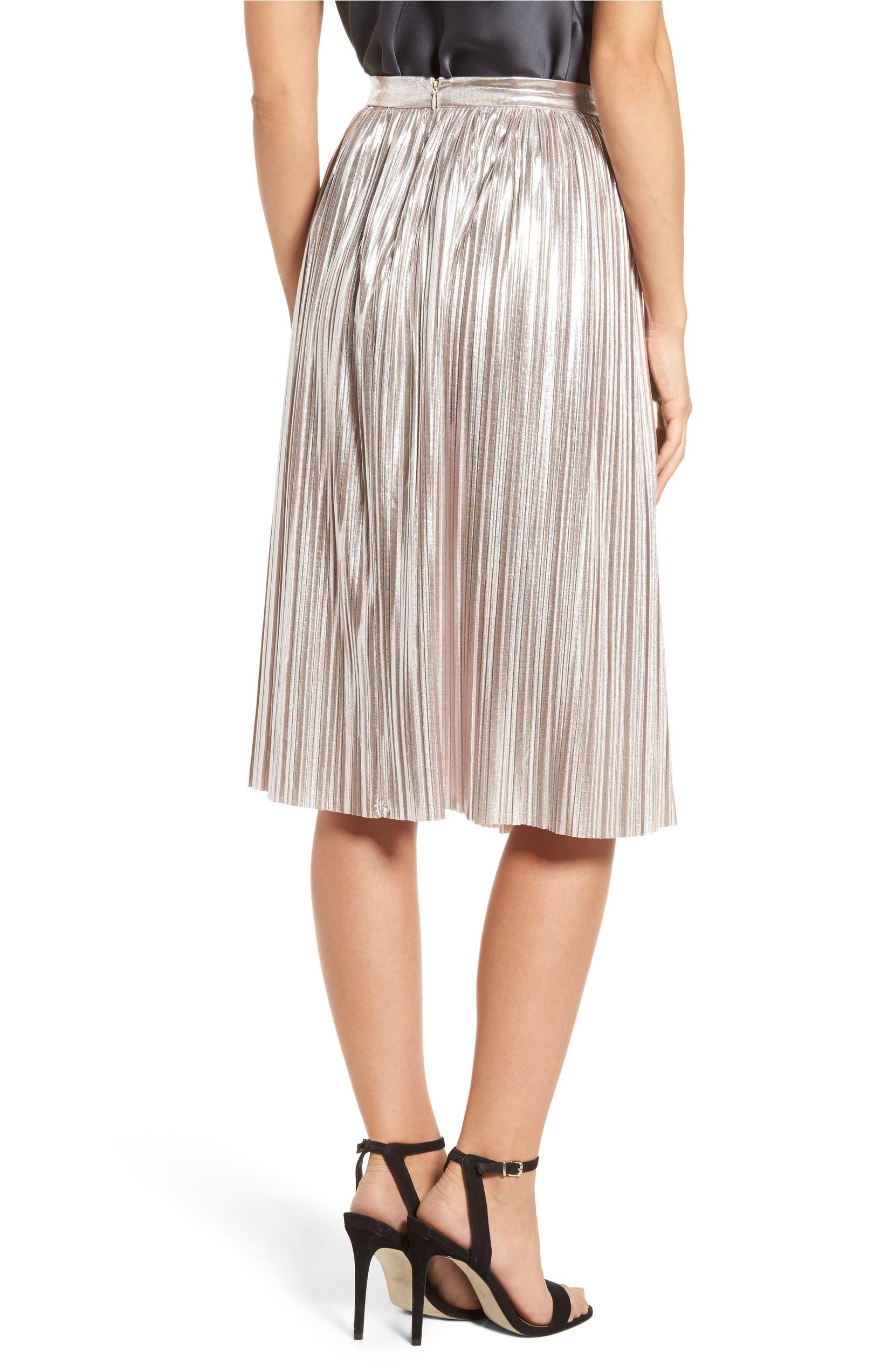 123e7fe014 devlin Morgan Pleat Skirt