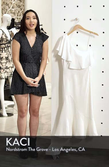 Raquel One-Shoulder Trumpet Dress, sales video thumbnail