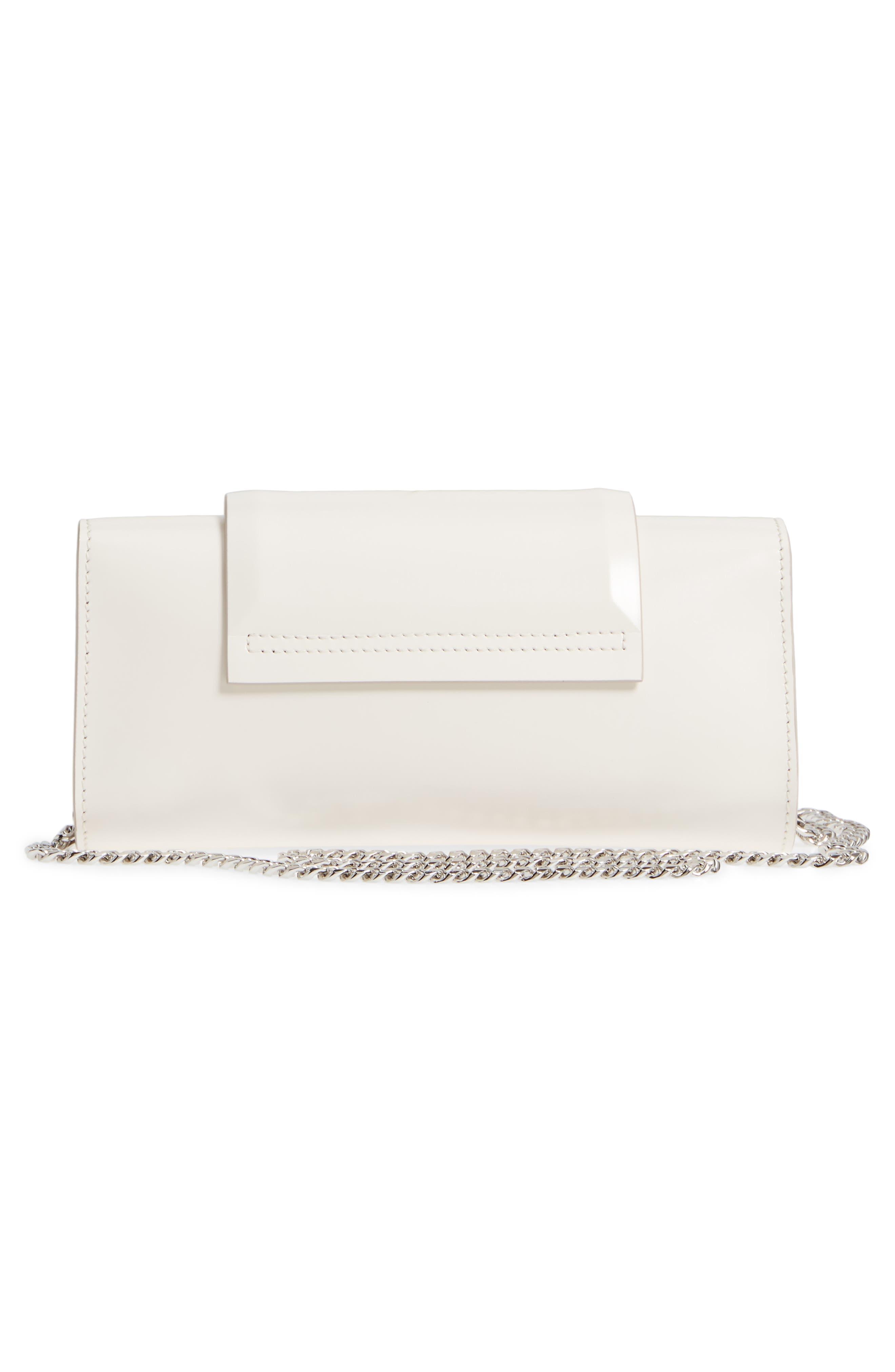 Mini Infinity Calfskin Leather Shoulder/Crossbody Bag,                             Alternate thumbnail 6, color,