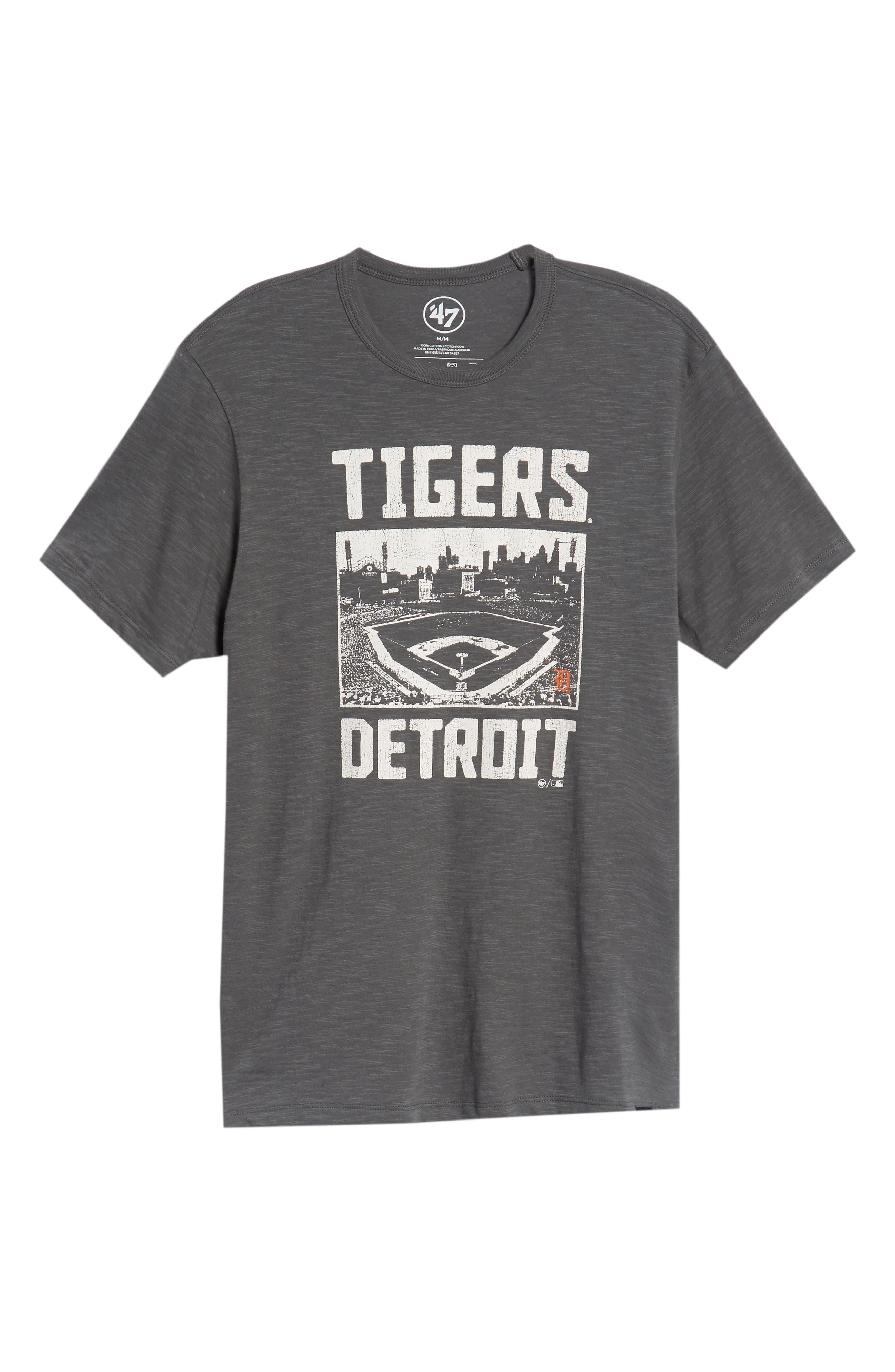 MLB Overdrive Scrum Detroit Tigers T-Shirt,                             Alternate thumbnail 6, color,                             SUBMARINE
