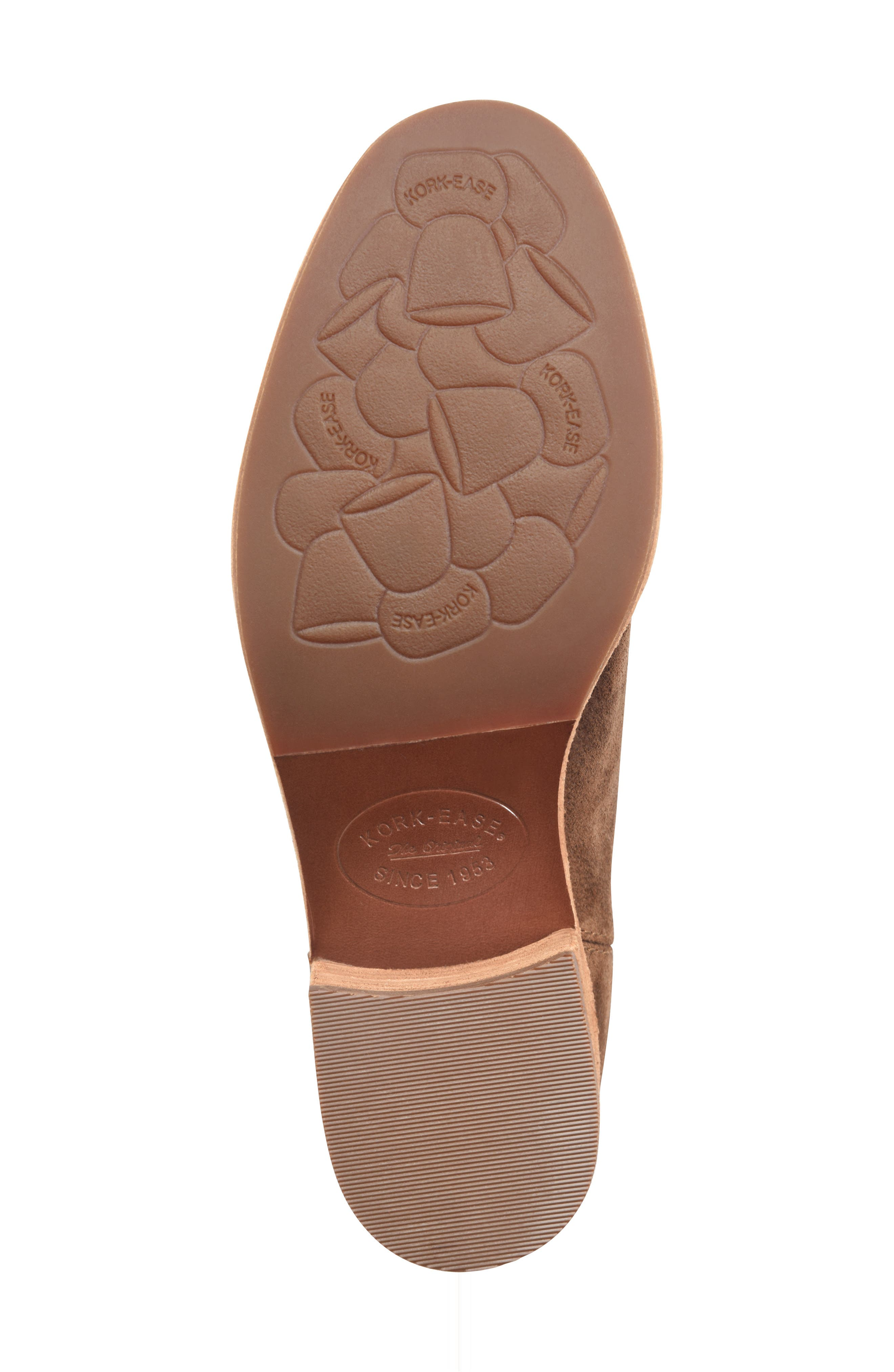 Mindo Chelsea Bootie,                             Alternate thumbnail 6, color,                             BROWN SUEDE