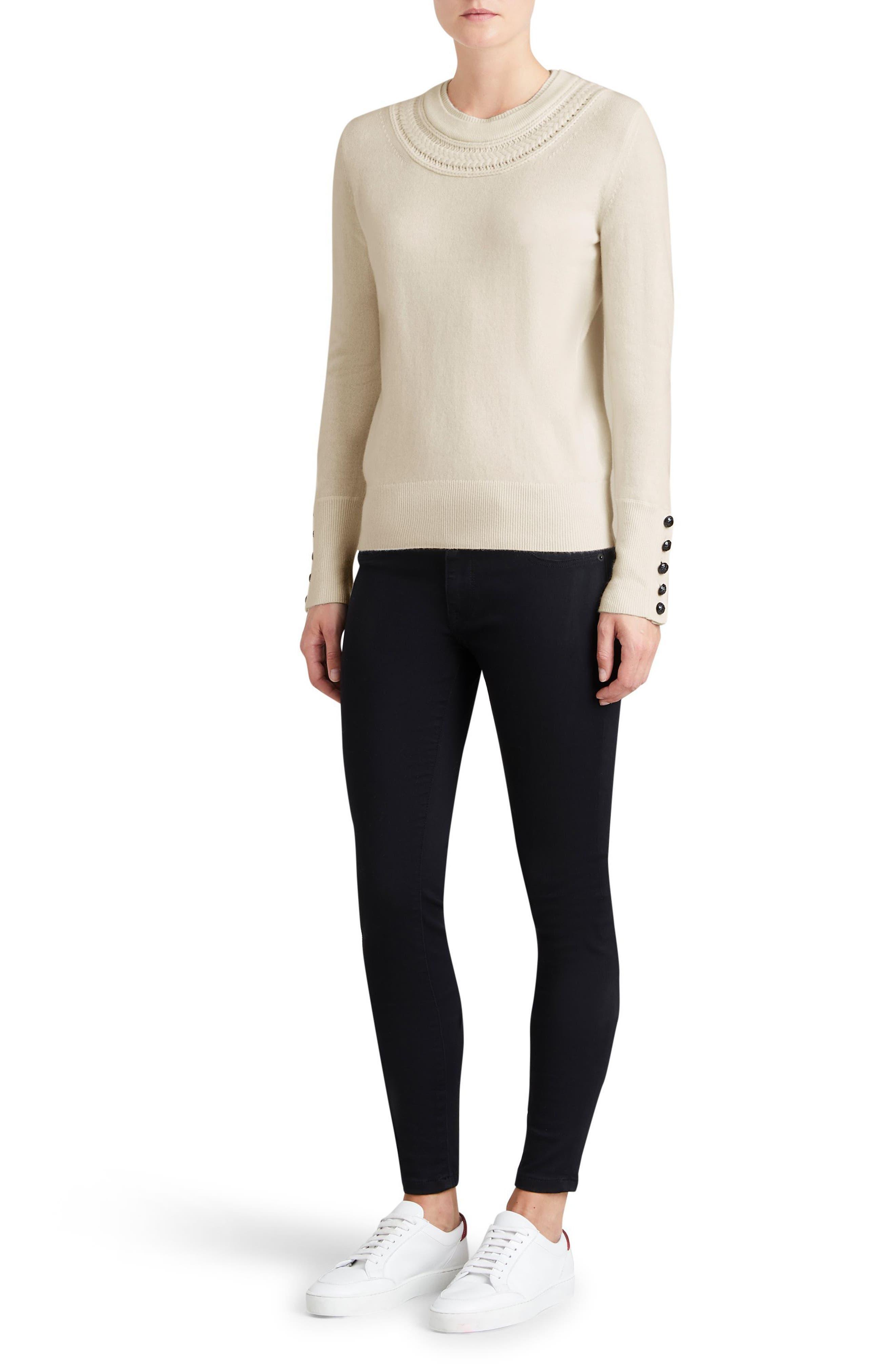 Carapelle Cashmere Sweater,                             Alternate thumbnail 17, color,