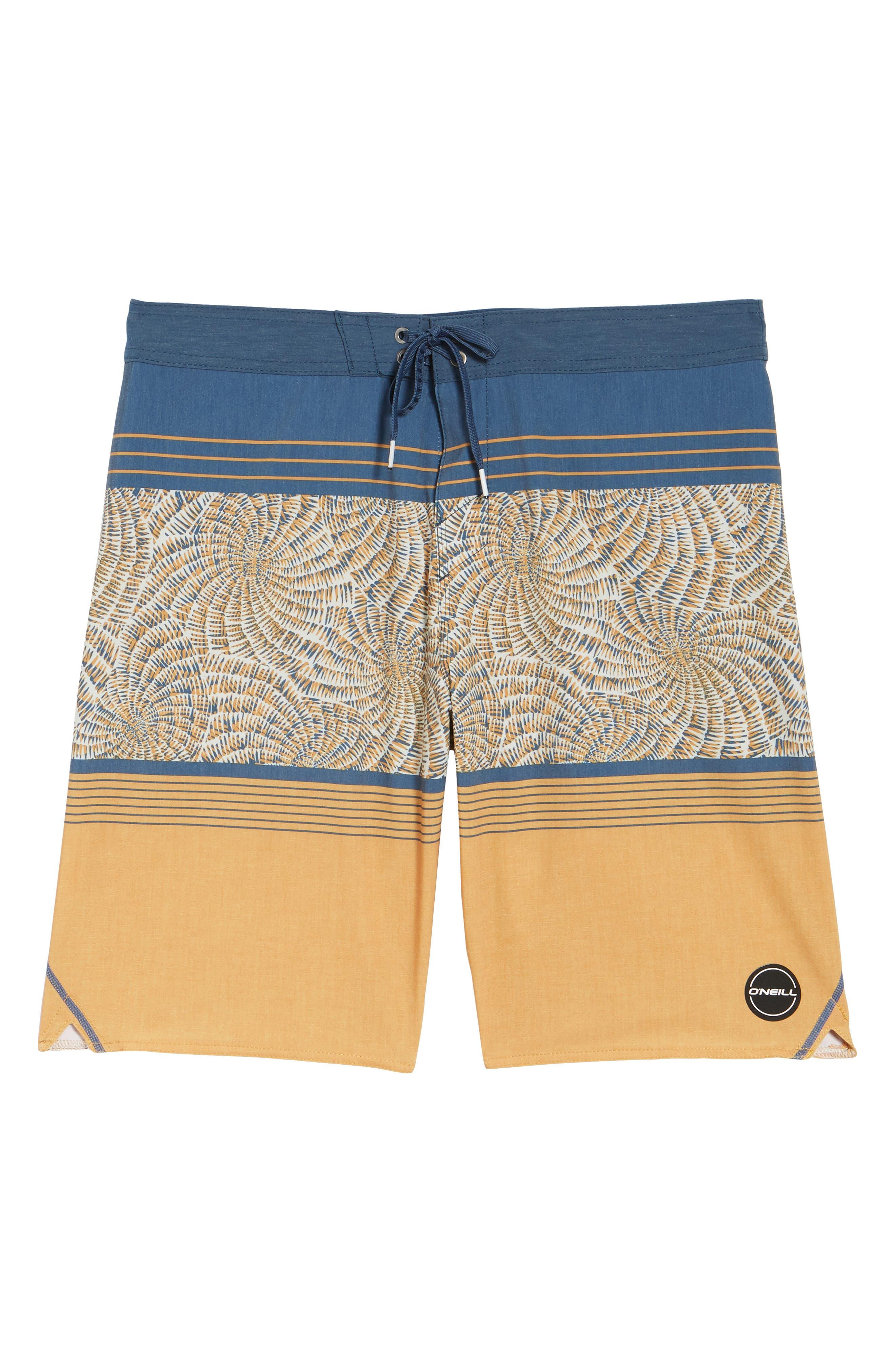 Hyperfreak Nautilus S-Seam Board Shorts,                             Alternate thumbnail 6, color,                             709