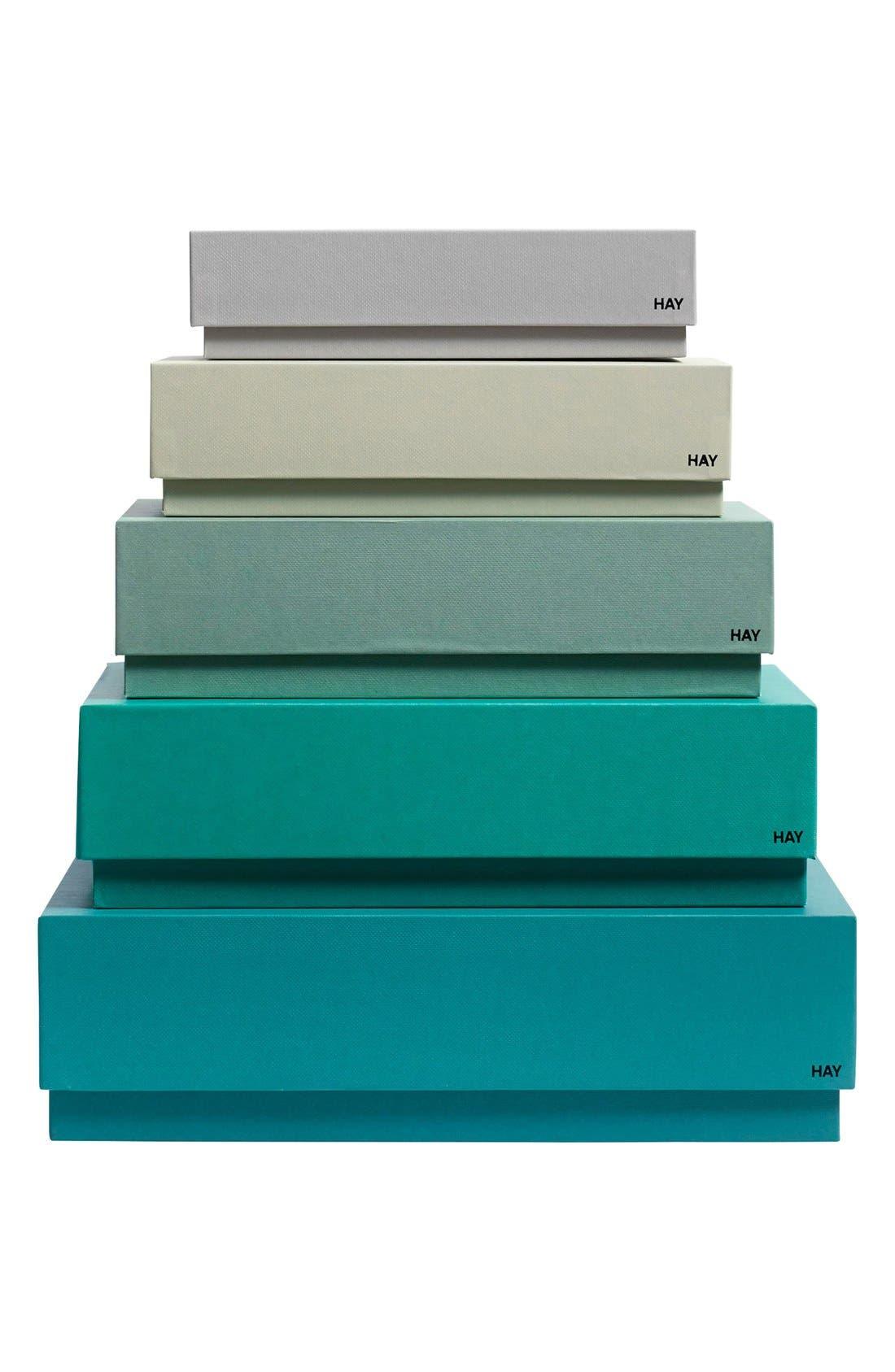 'Box Box' Storage Boxes,                             Main thumbnail 1, color,                             300