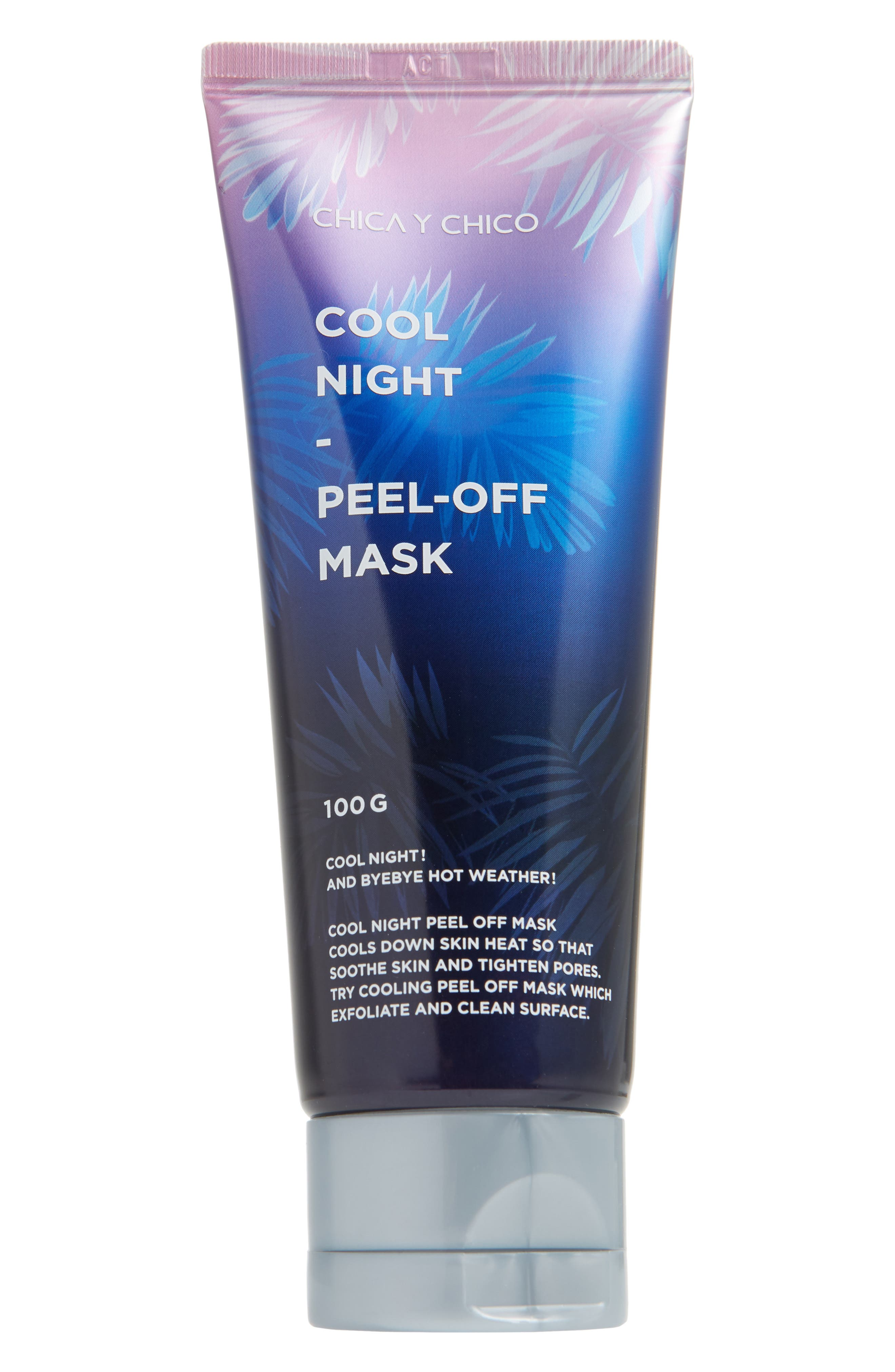 CHICA Y CHICO Cool Night Peel Off Mask in Clear