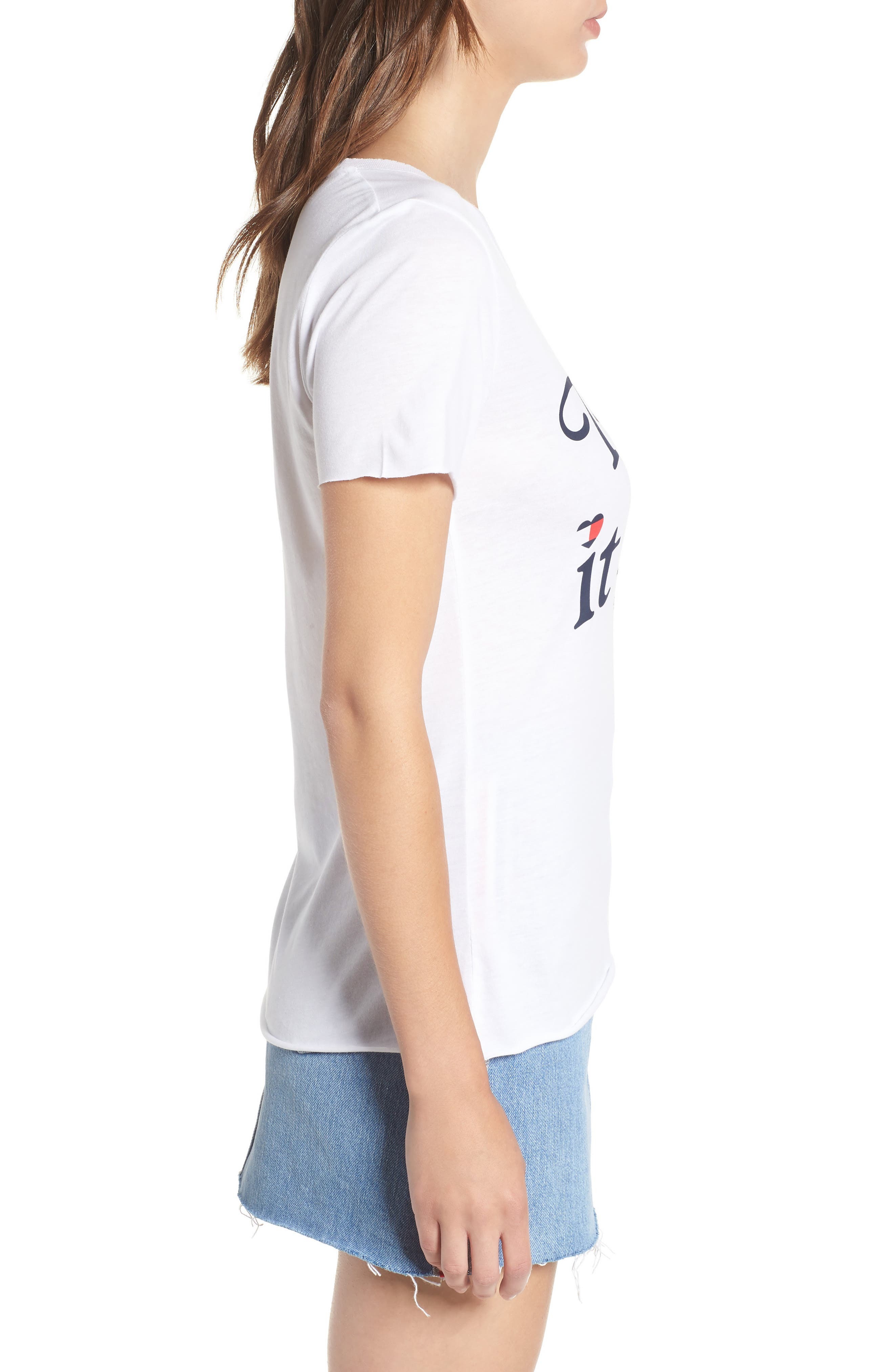 TJW Take It Easy Graphic Tee,                             Alternate thumbnail 3, color,                             113