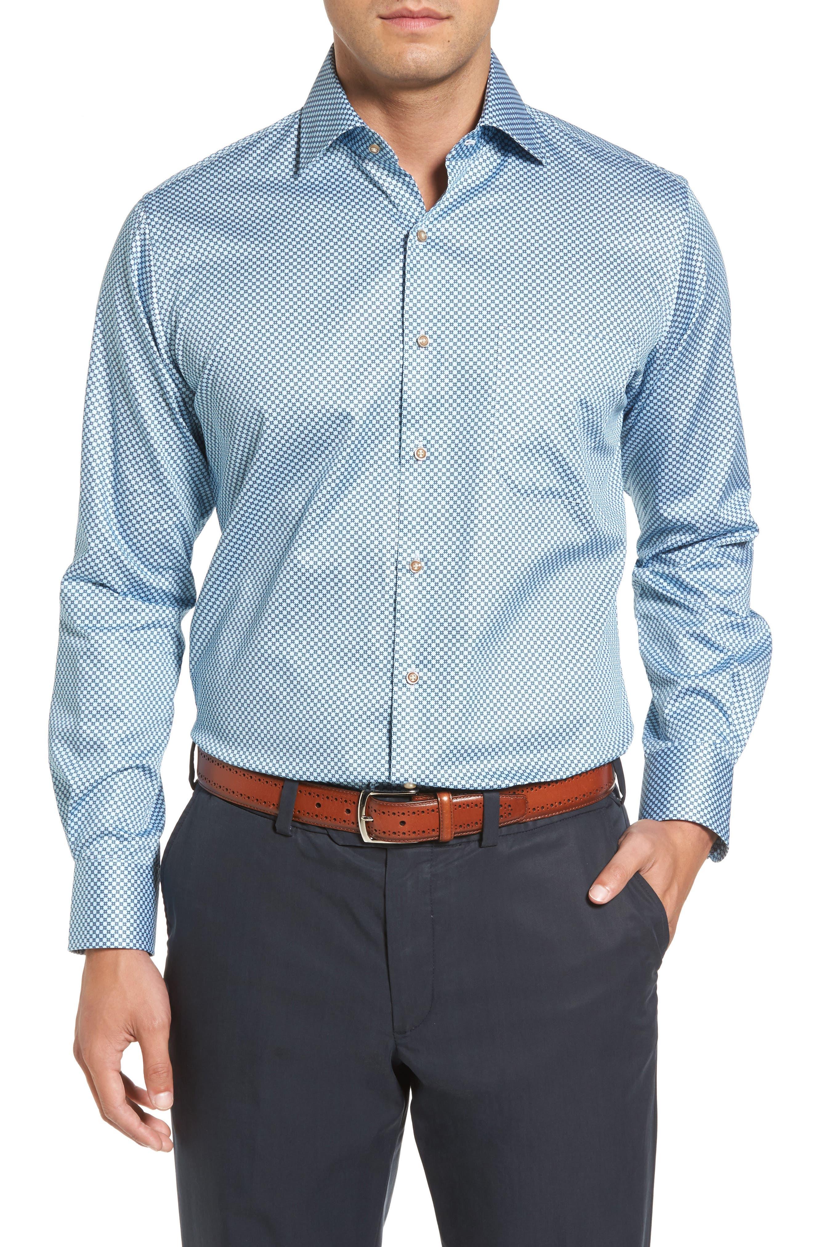 Pandora's Box Regular Fit Sport Shirt,                             Main thumbnail 1, color,                             437