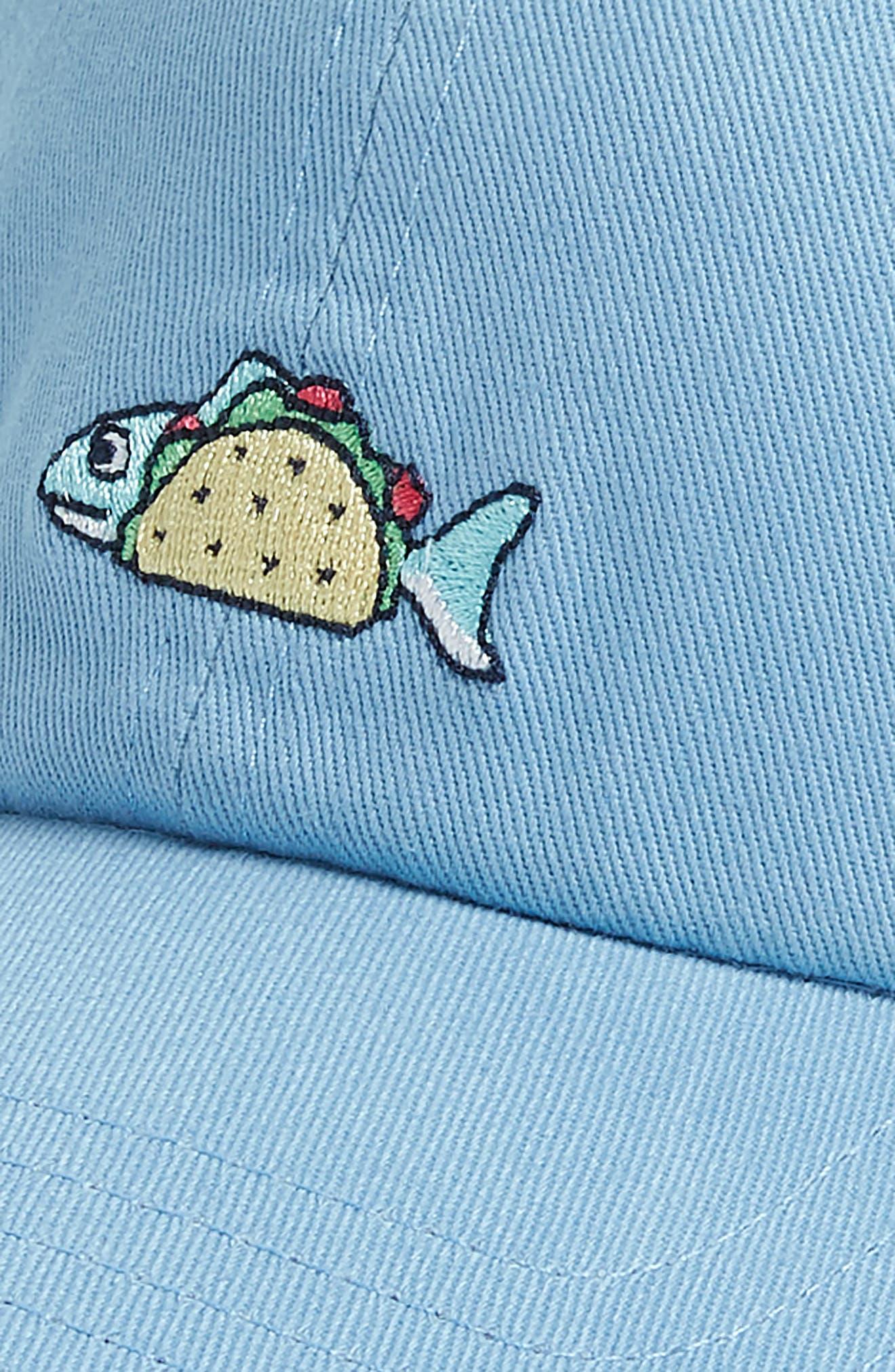 Classic Fish Taco Icon Cap,                             Alternate thumbnail 3, color,                             484