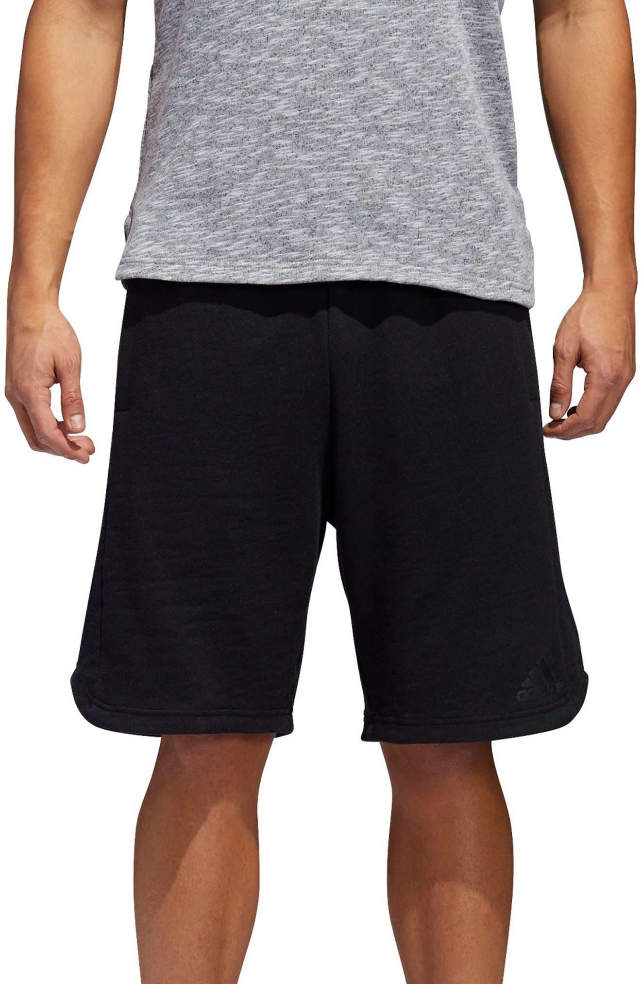 Pick Up Knit Shorts,                         Main,                         color, BLACK