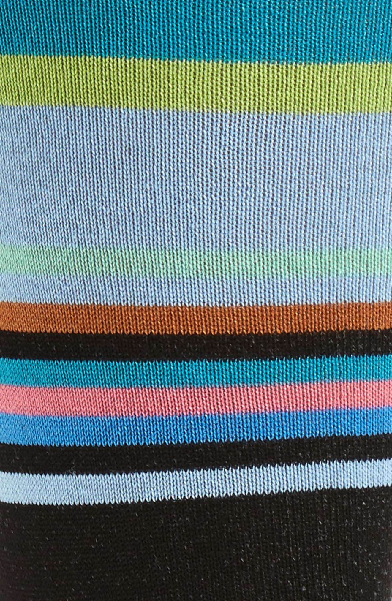 Stripe Crew Socks,                             Alternate thumbnail 2, color,                             001