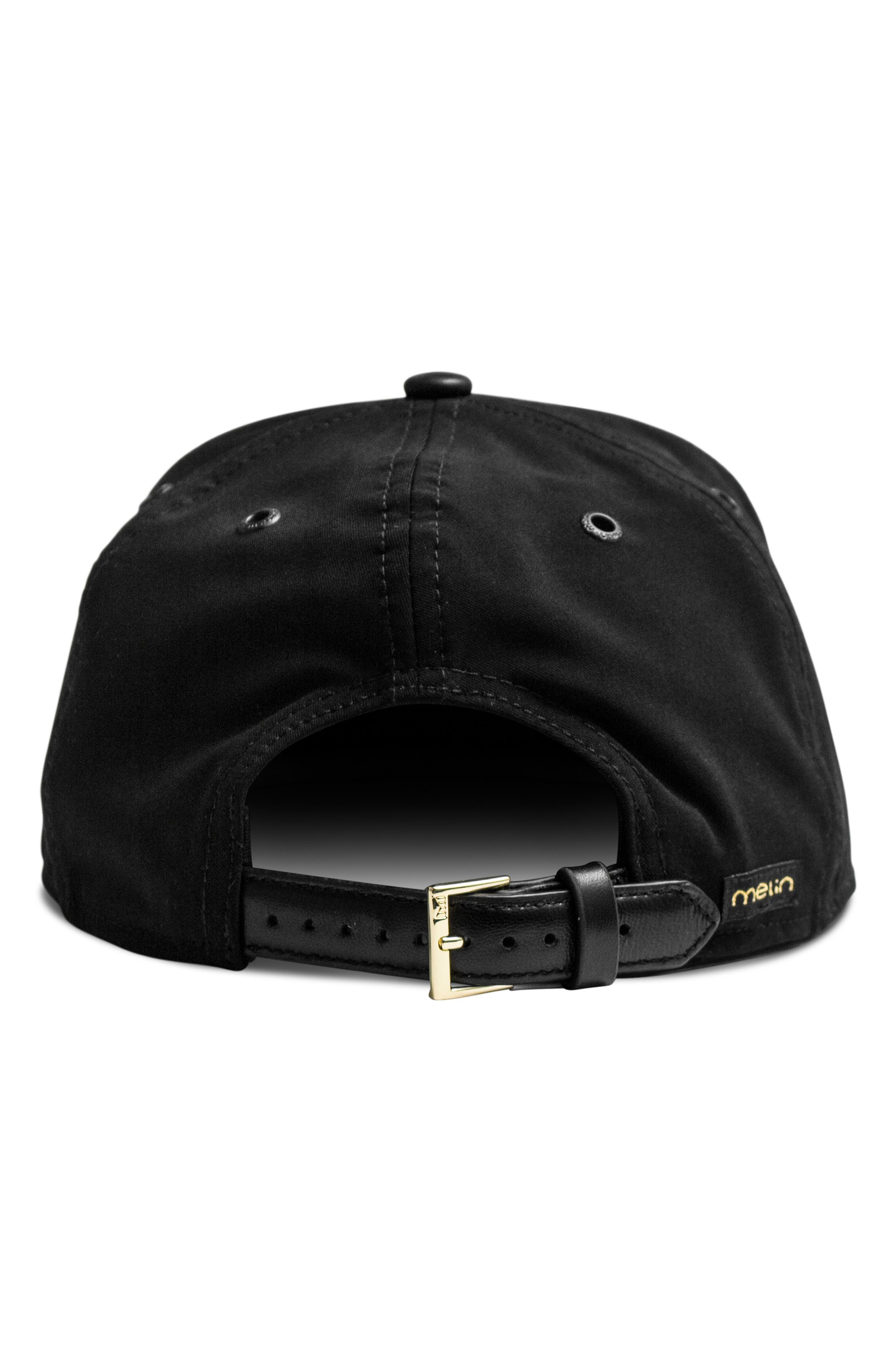 The Bar Baseball Cap,                             Alternate thumbnail 3, color,                             BLACK GOLD