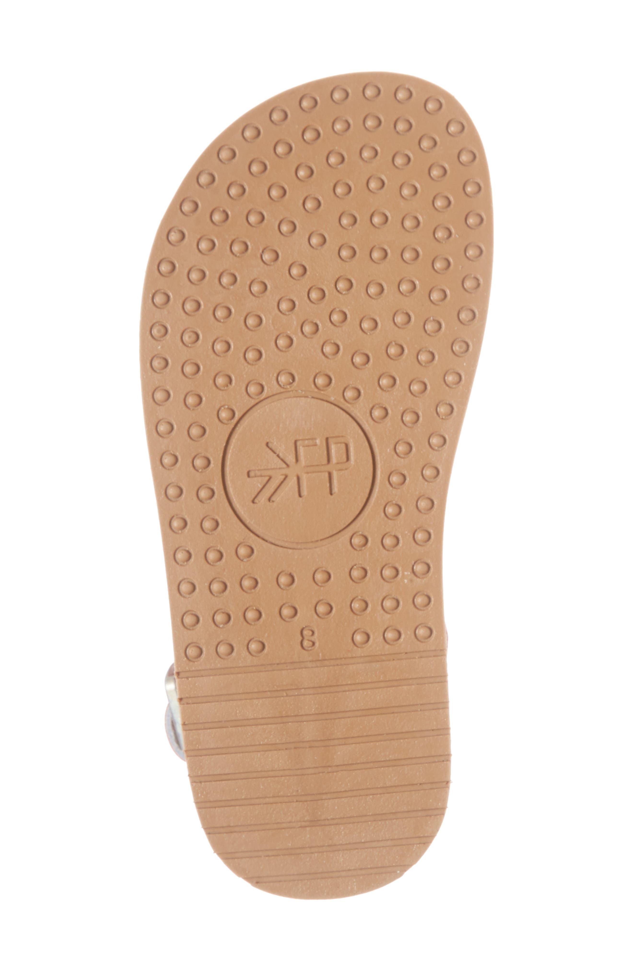 Laguna Water Resistant Perforated Sandal,                             Alternate thumbnail 6, color,                             CHERRY