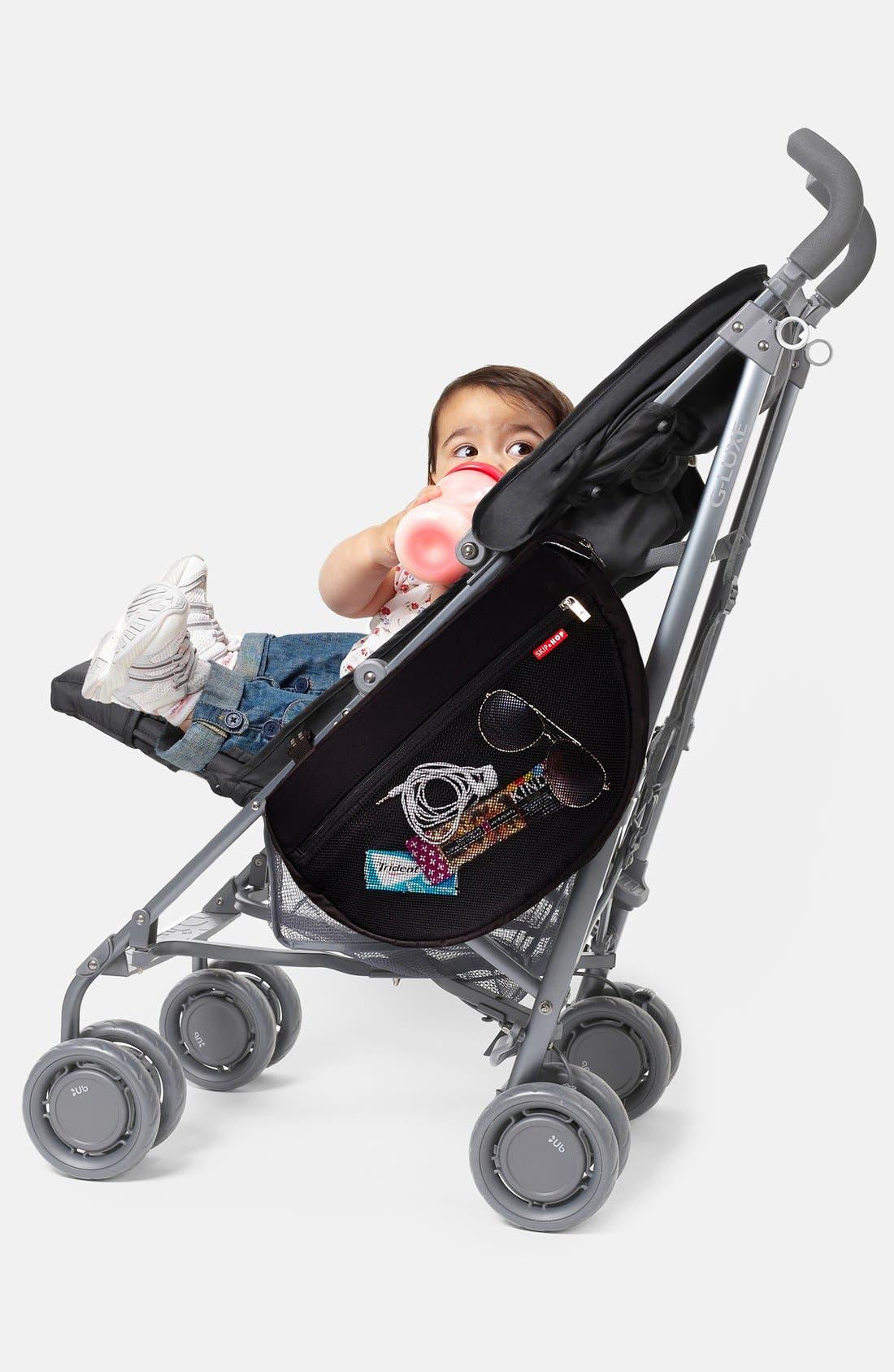 Stroller Saddle Bag,                             Alternate thumbnail 3, color,                             BLACK